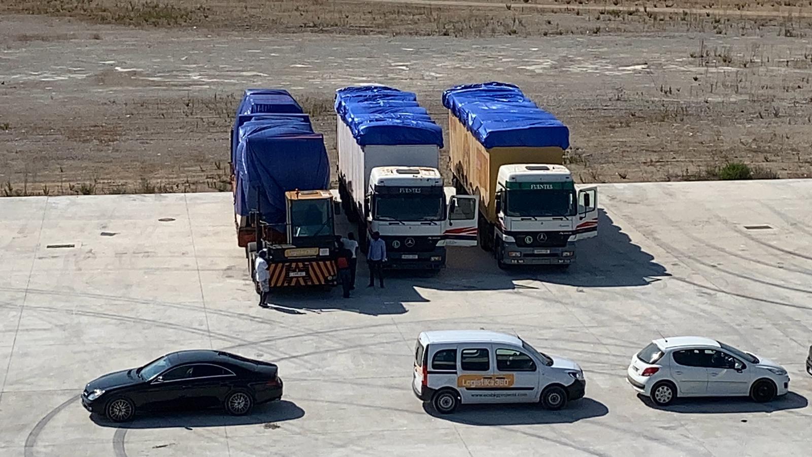 Grupo ECS 360 Logistics realiza un embarque directo desde Algeciras a Conakry