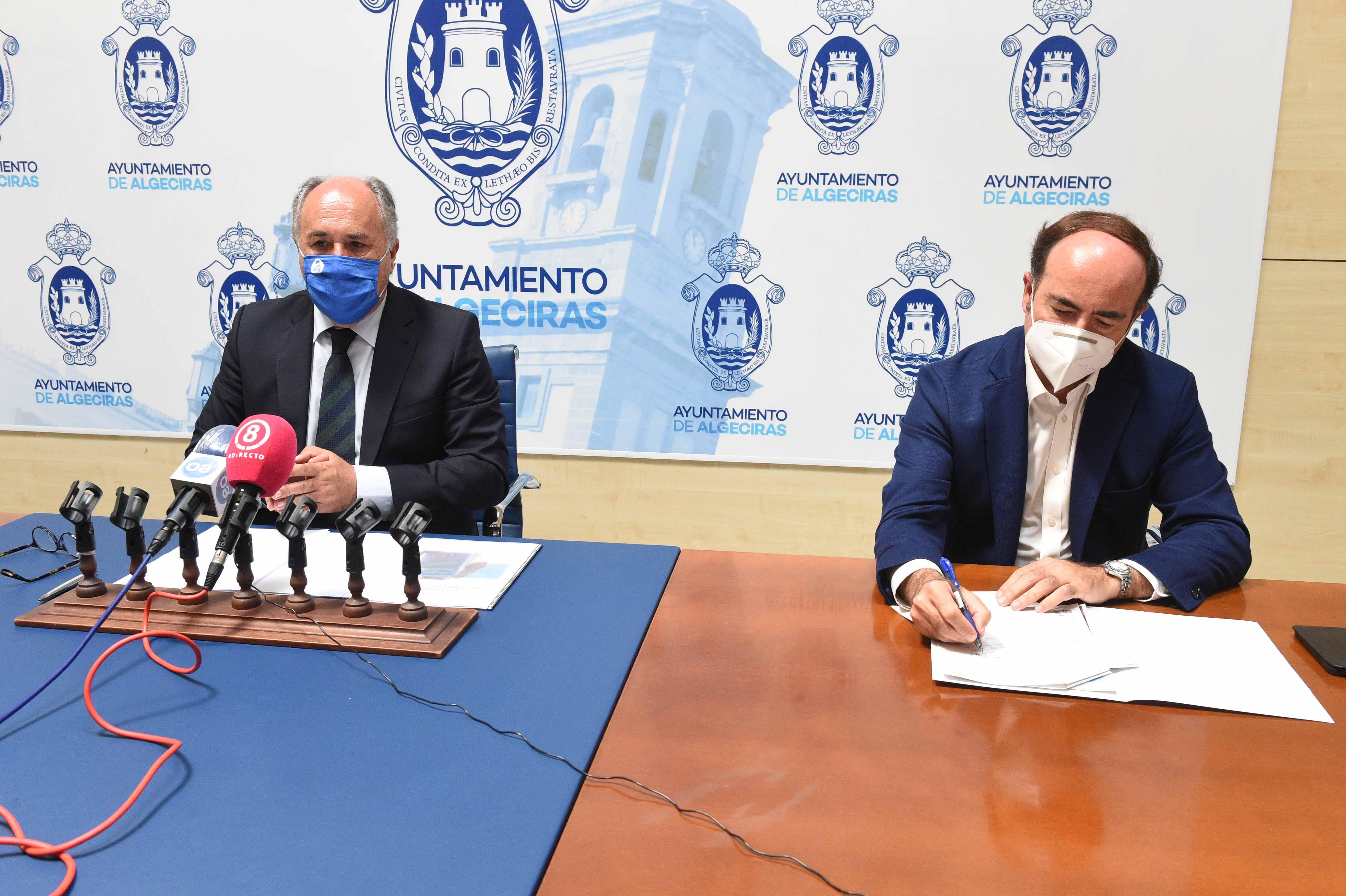 APBA y el Ayuntamiento de Algeciras se comprometen en regenerar El Rinconcillo