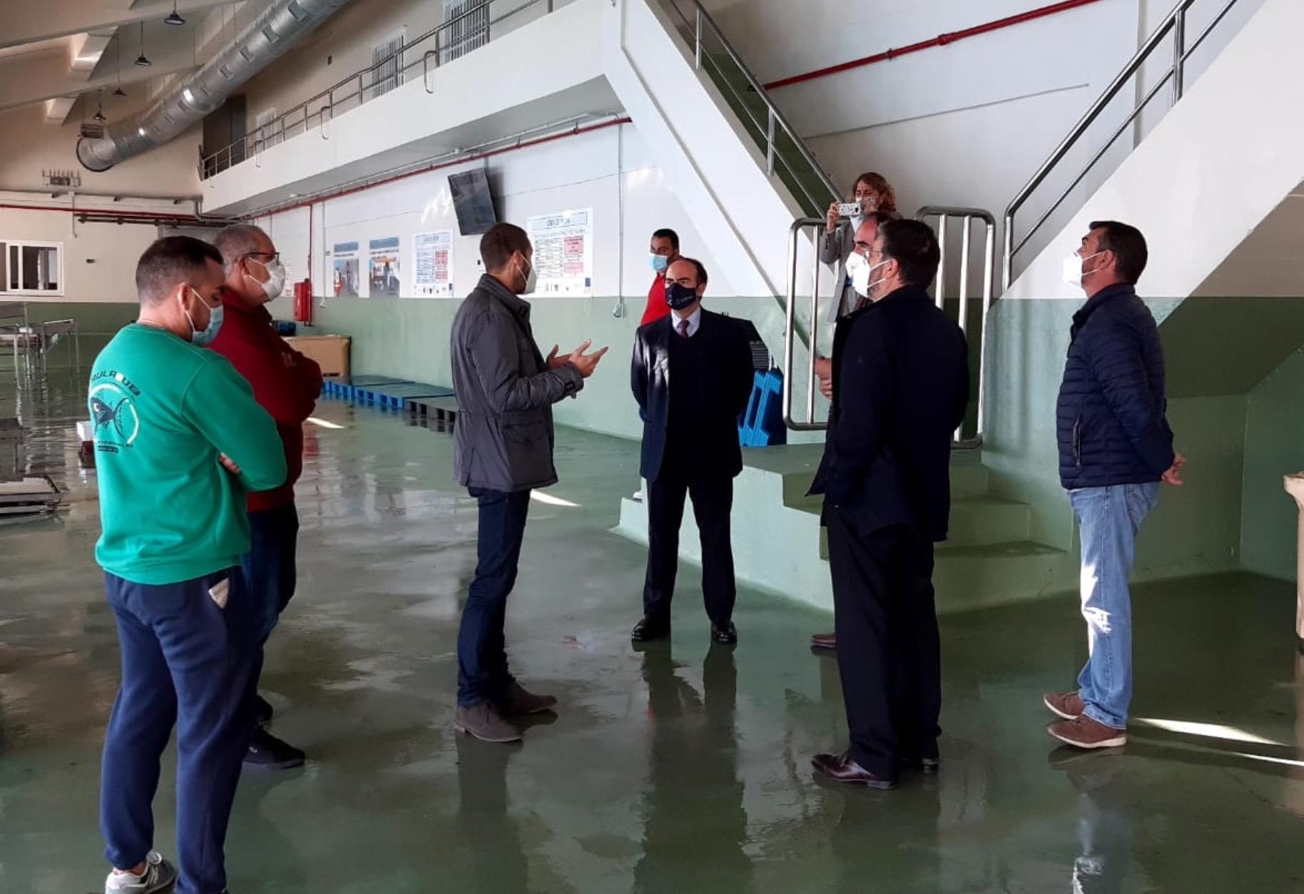 La APBA concluye la renovación de la Lonja del Puerto de Tarifa