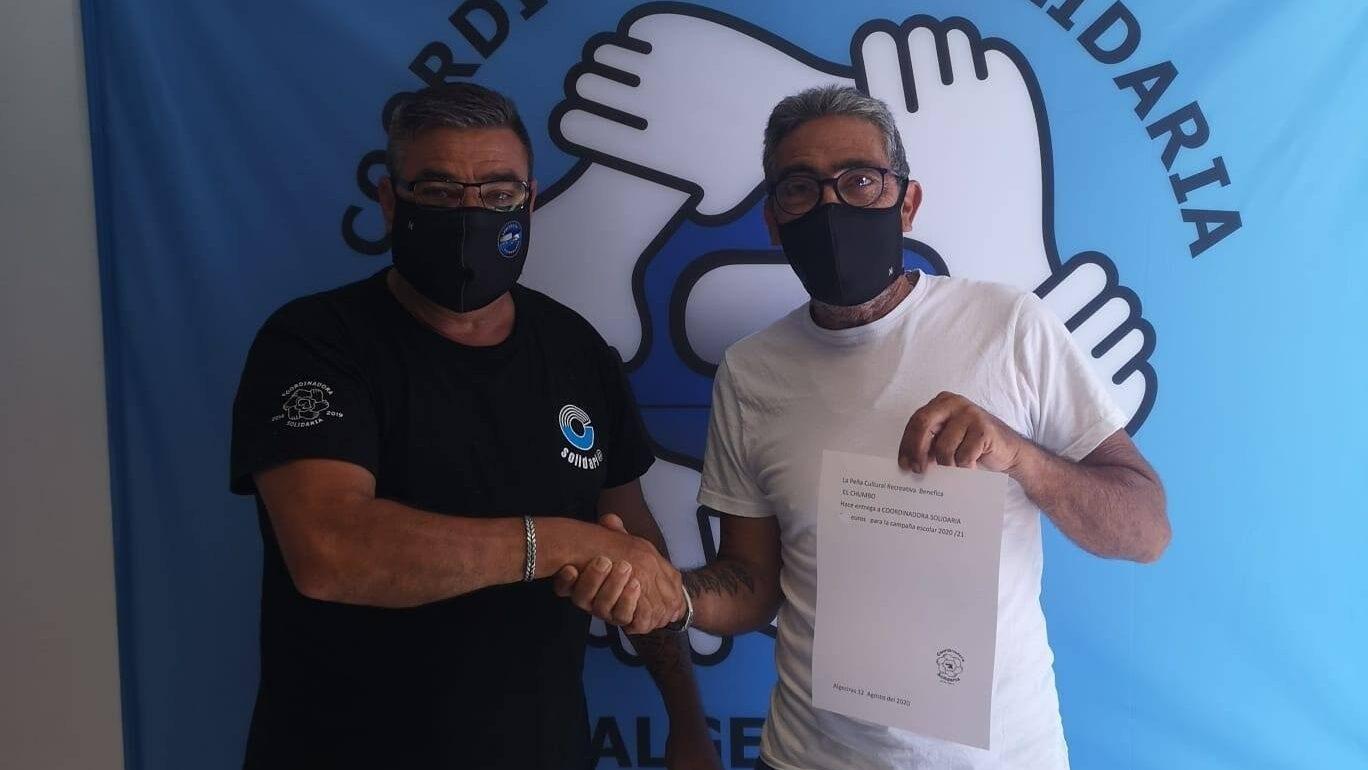 Coordinadora Solidaria continúa con su campaña de recogida de material escolar