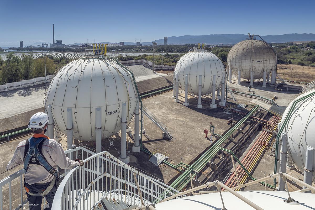 La factoría de Repsol Butano en San Roque se incorpora a la AGI