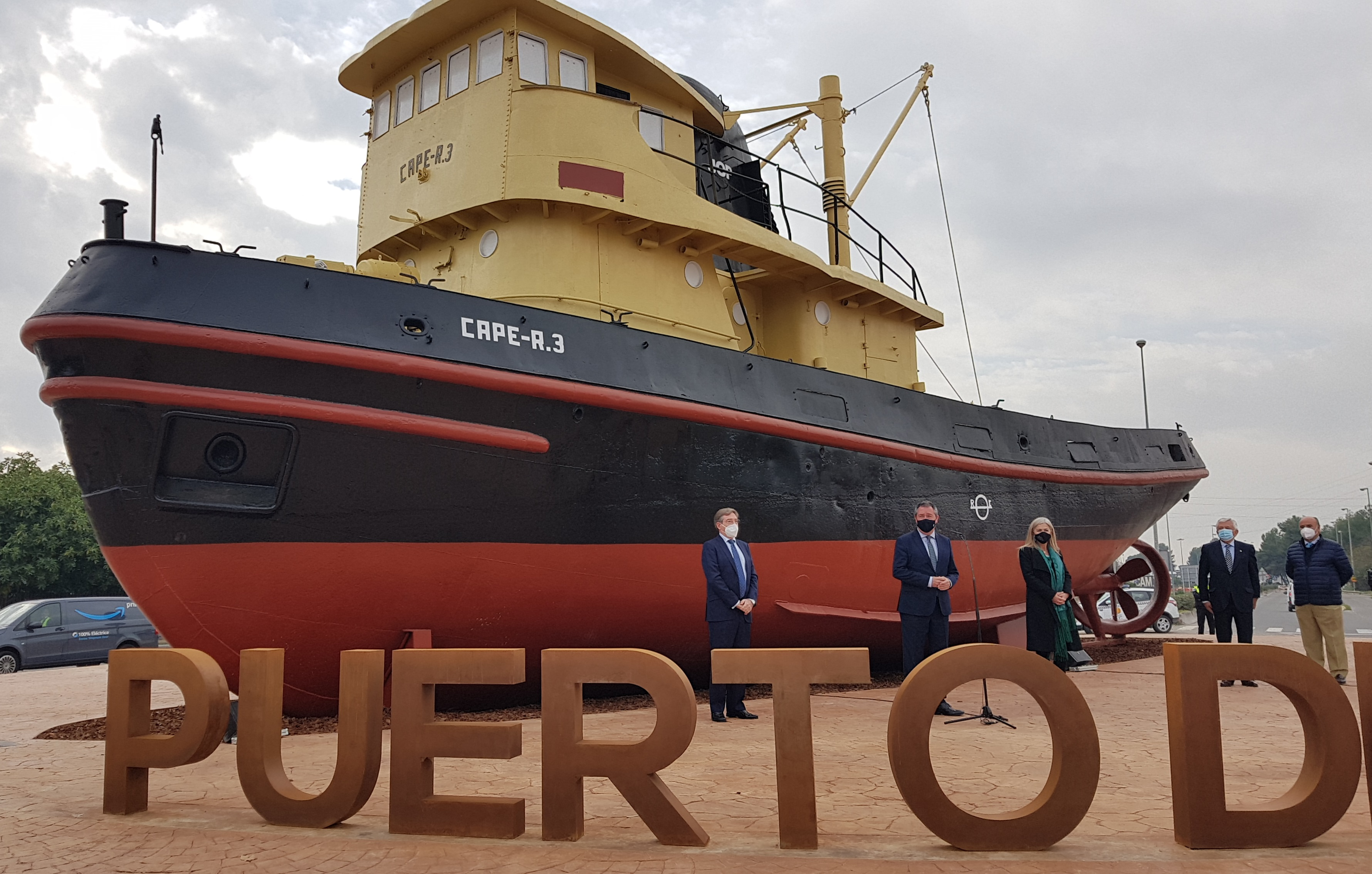 Celebran el 150 aniversario de la fundación de la Junta de Obra del Puerto de Sevilla