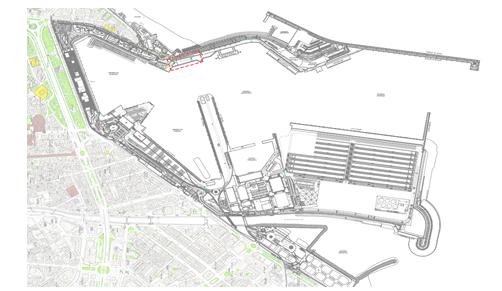 Importantes avances para la construcción de las nuevas dependencias del PIF del puerto de Málaga