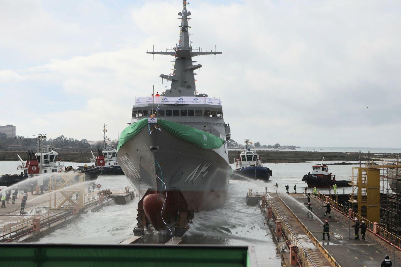 Navantia San Fernando bota la segunda corbeta para la Marina Saudí