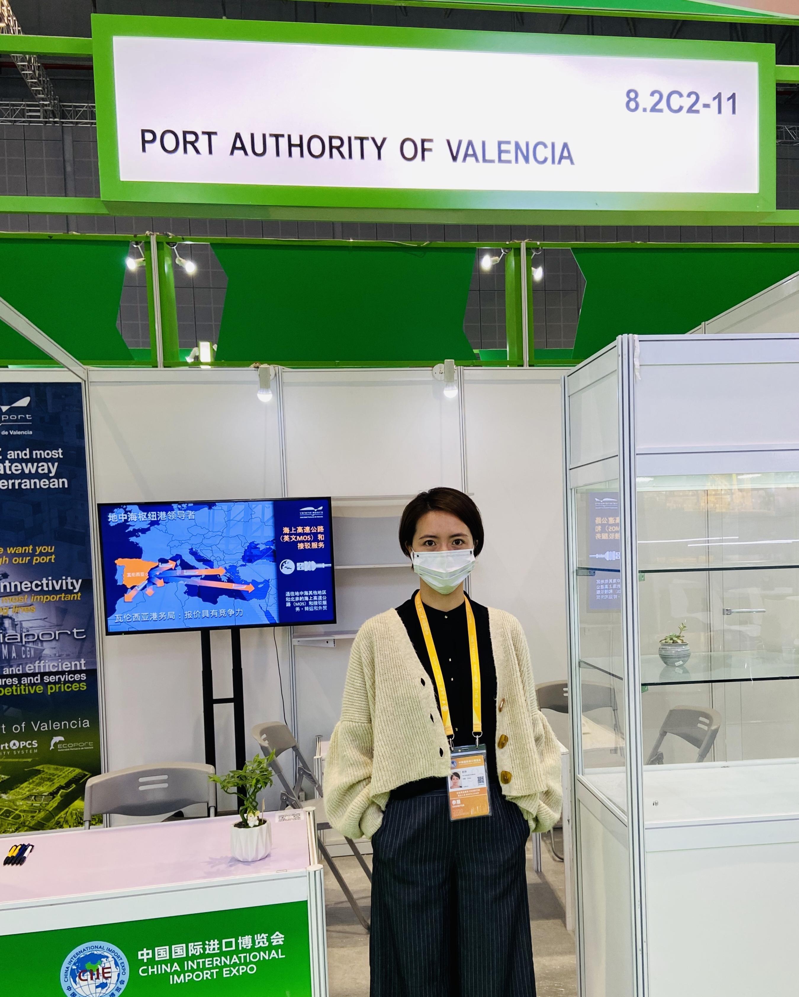 Valenciaport promueve su amplia conectividad en Shangai