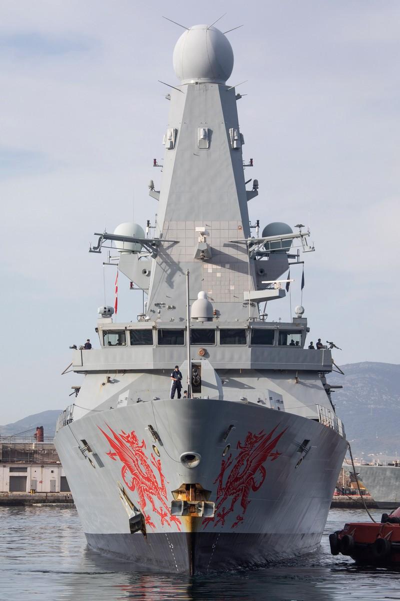 El HSM Dragon de vuelta a Gibraltar