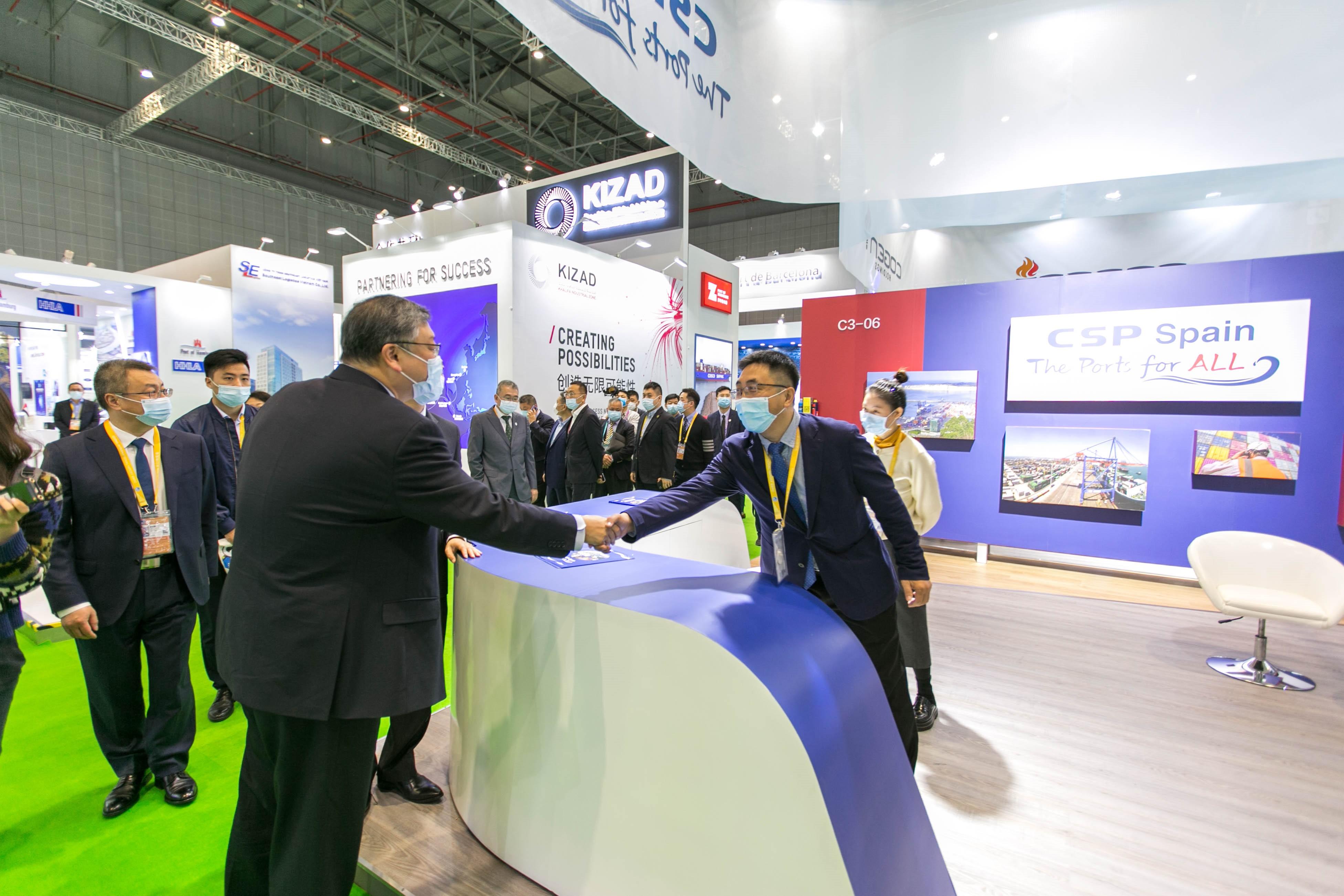 """CSP Spain expone su posición estratégica en el desarrollo de la iniciativa """"Belt and Road"""" en la feria CIIE de Shanghai"""