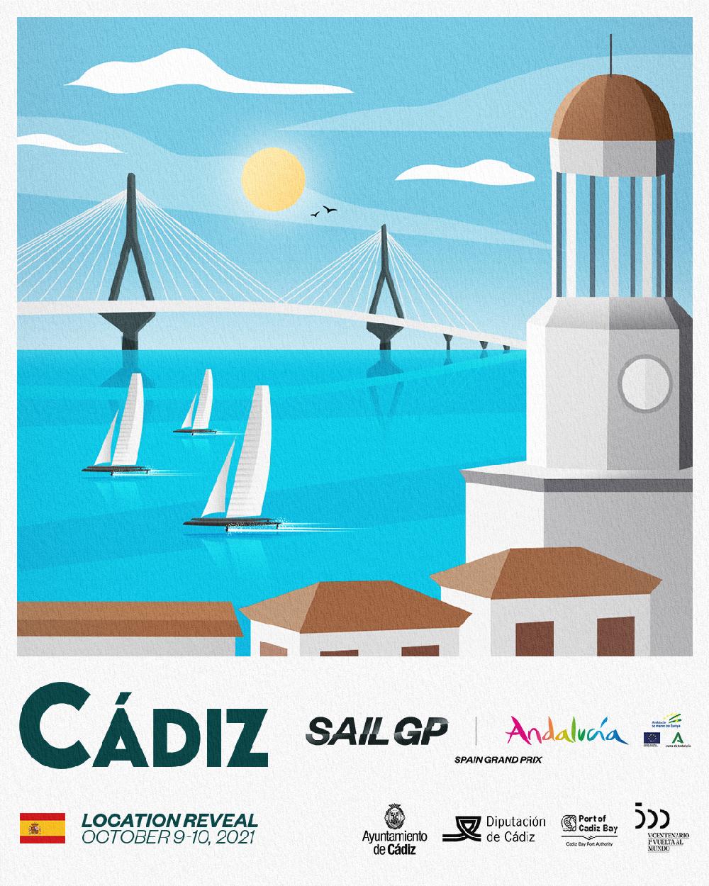 Andalucía será la sede oficial del Gran Premio de España de SailGP