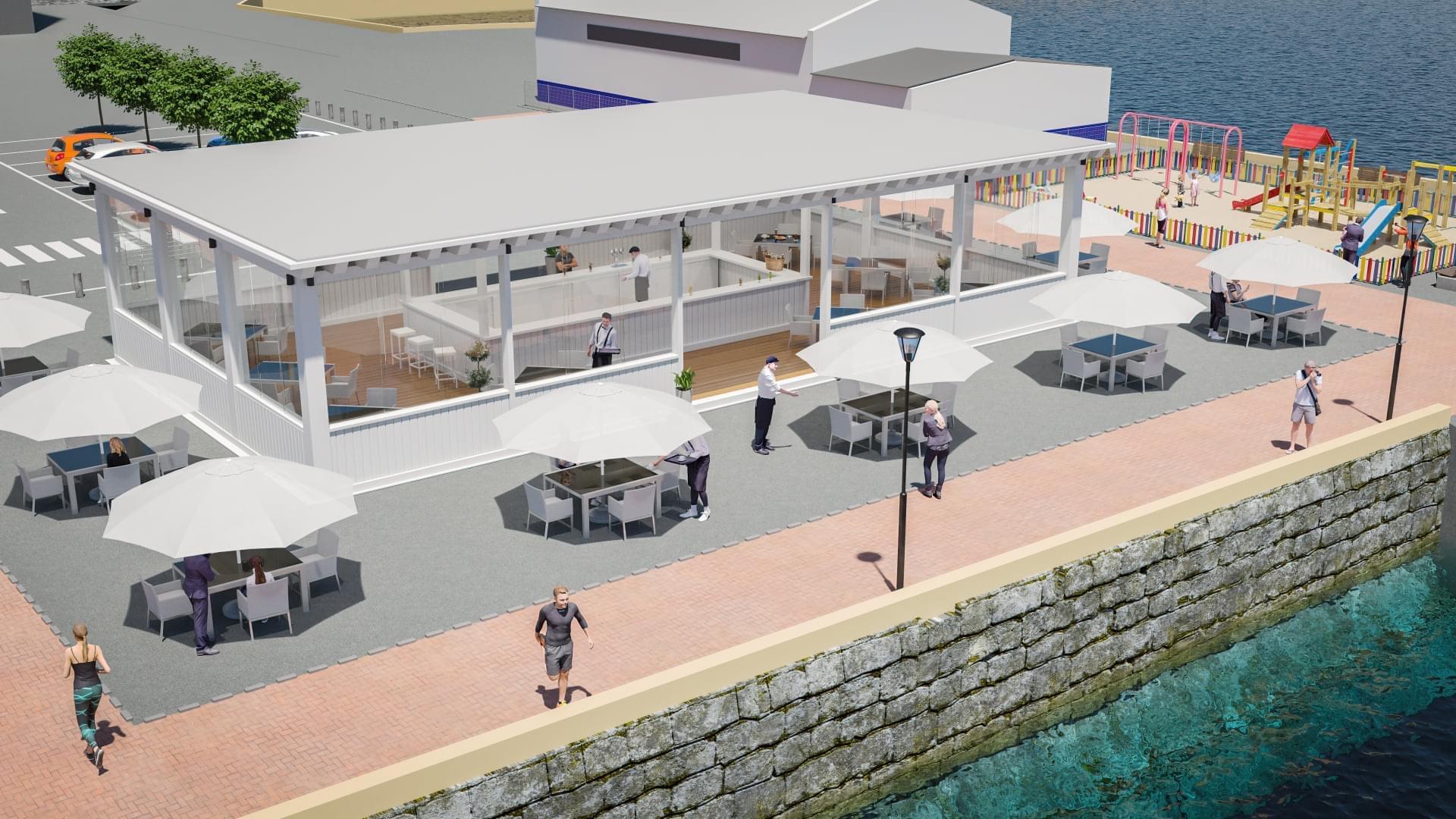 A concurso una concesión para un establecimiento hostelero en La Puntilla de Puerto Real