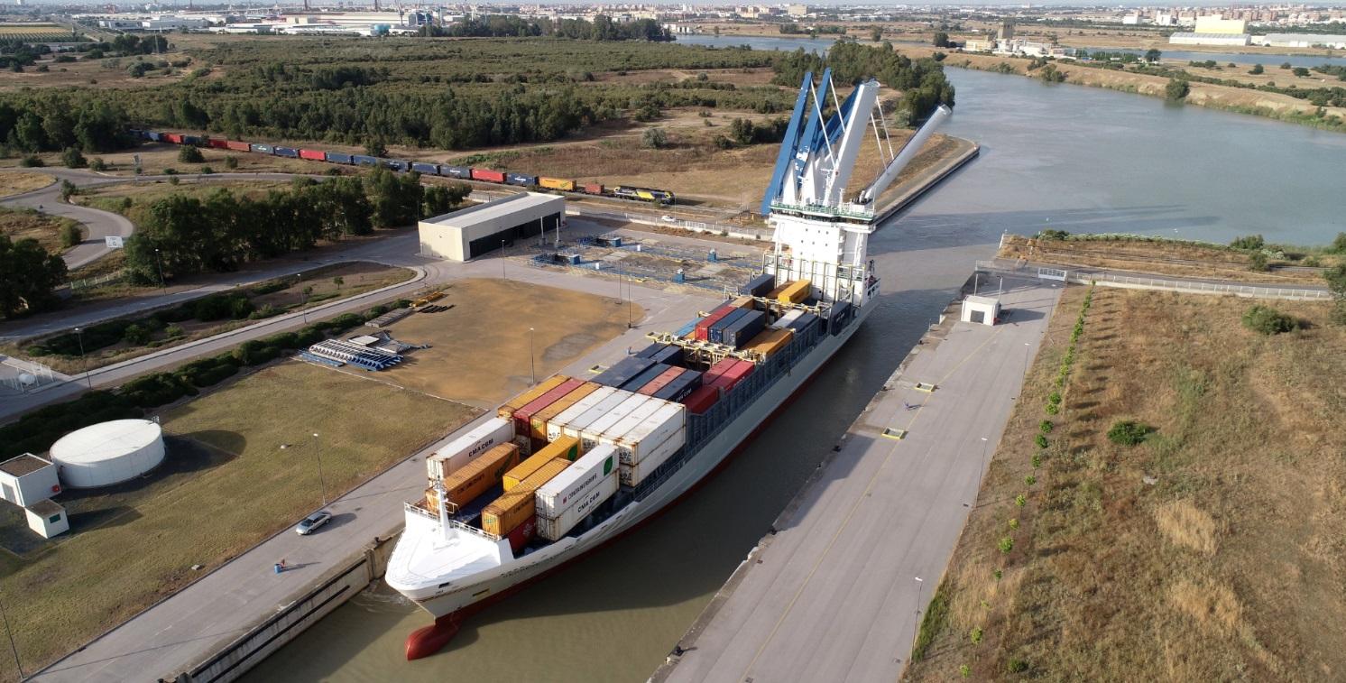 El Puerto de Sevilla adjudica el concurso para la construcción y gestión de una nueva terminal en la dársena del Cuarto
