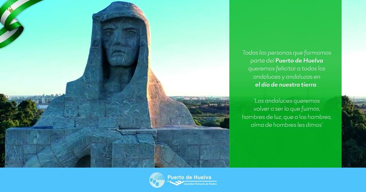 Los puertos de la región se suman a la felicitación por el Día de Andalucía