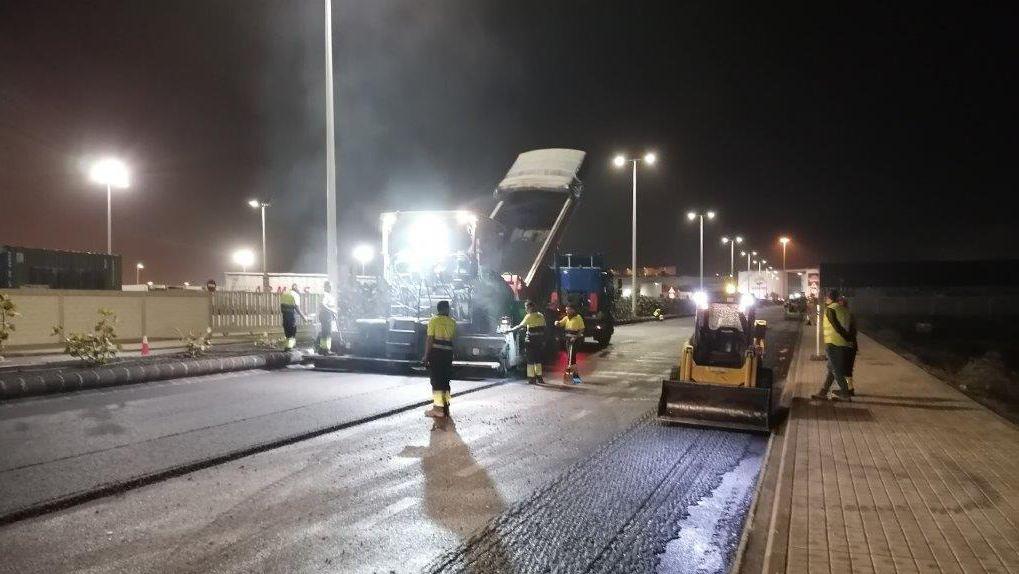 Mejoras en los accesos y viales principales del puerto de Las Palmas para facilitar el tránsito seguro de vehículos pesados