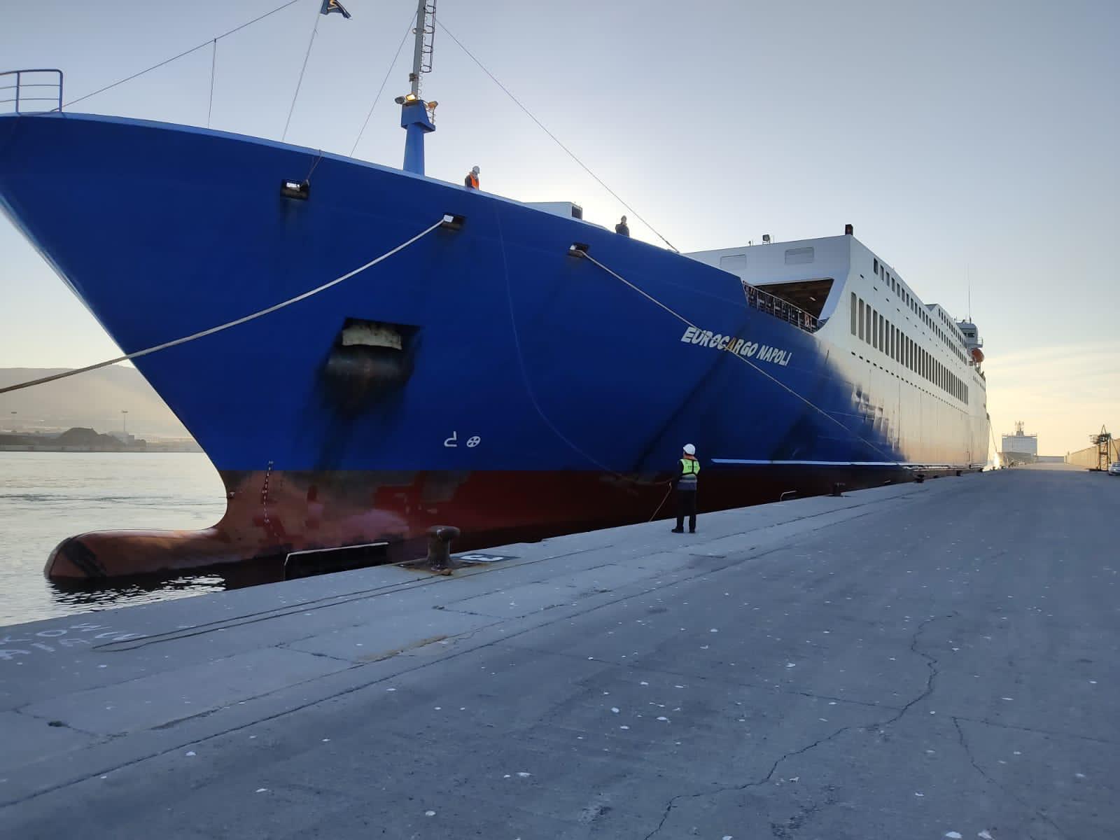 MCL da un paso más hacia el inminente arranque de su servicio regular de carga rodada entre Tánger Med y Motril