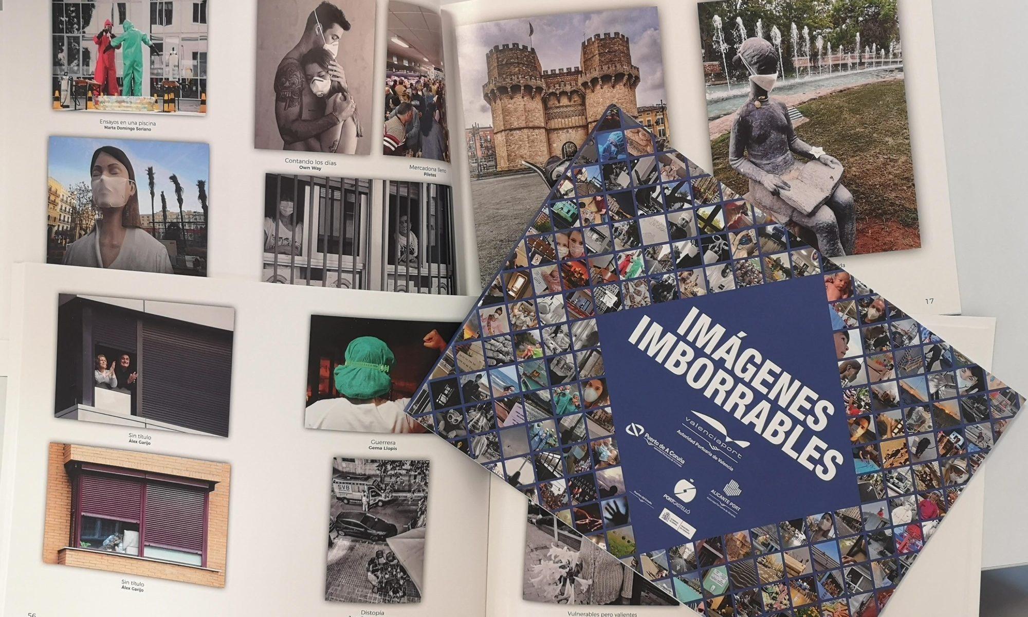 """Valenciaport rinde homenaje a la sociedad en tiempos de pandemia con el libro """"Imágenes Imborrables"""""""