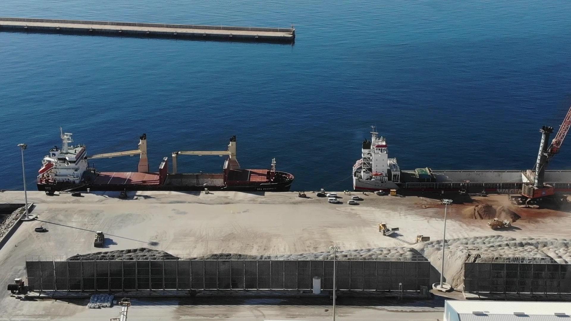El Puerto de Carboneras contará con un nuevo sistema de drenaje para evitar el vertido de aguas al mar