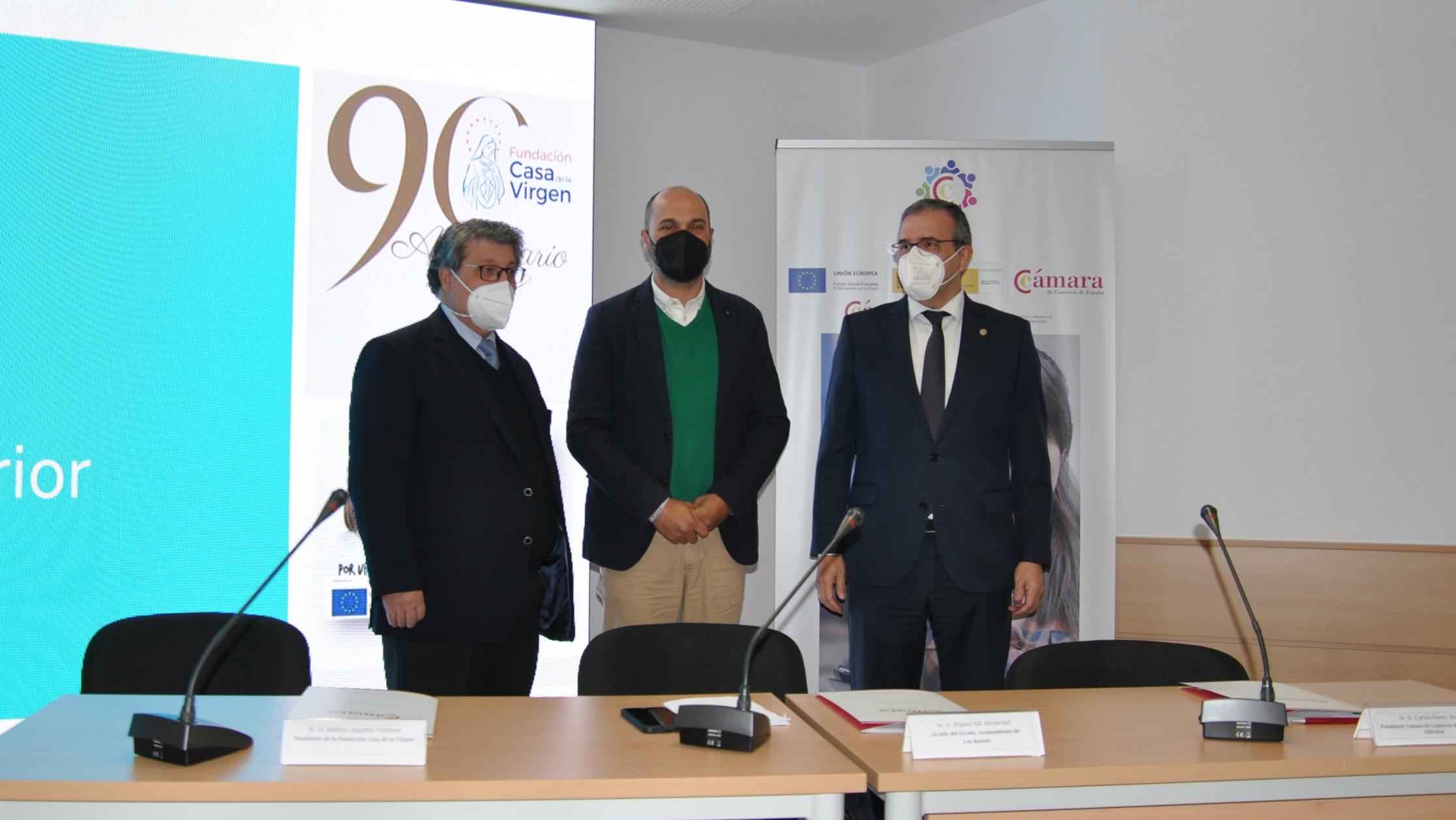 Cámara de Comercio del Campo de Gibraltar y Casa de la Virgen, de Los Barrios, reúnen a empresas y entidades interesadas en la formación dual