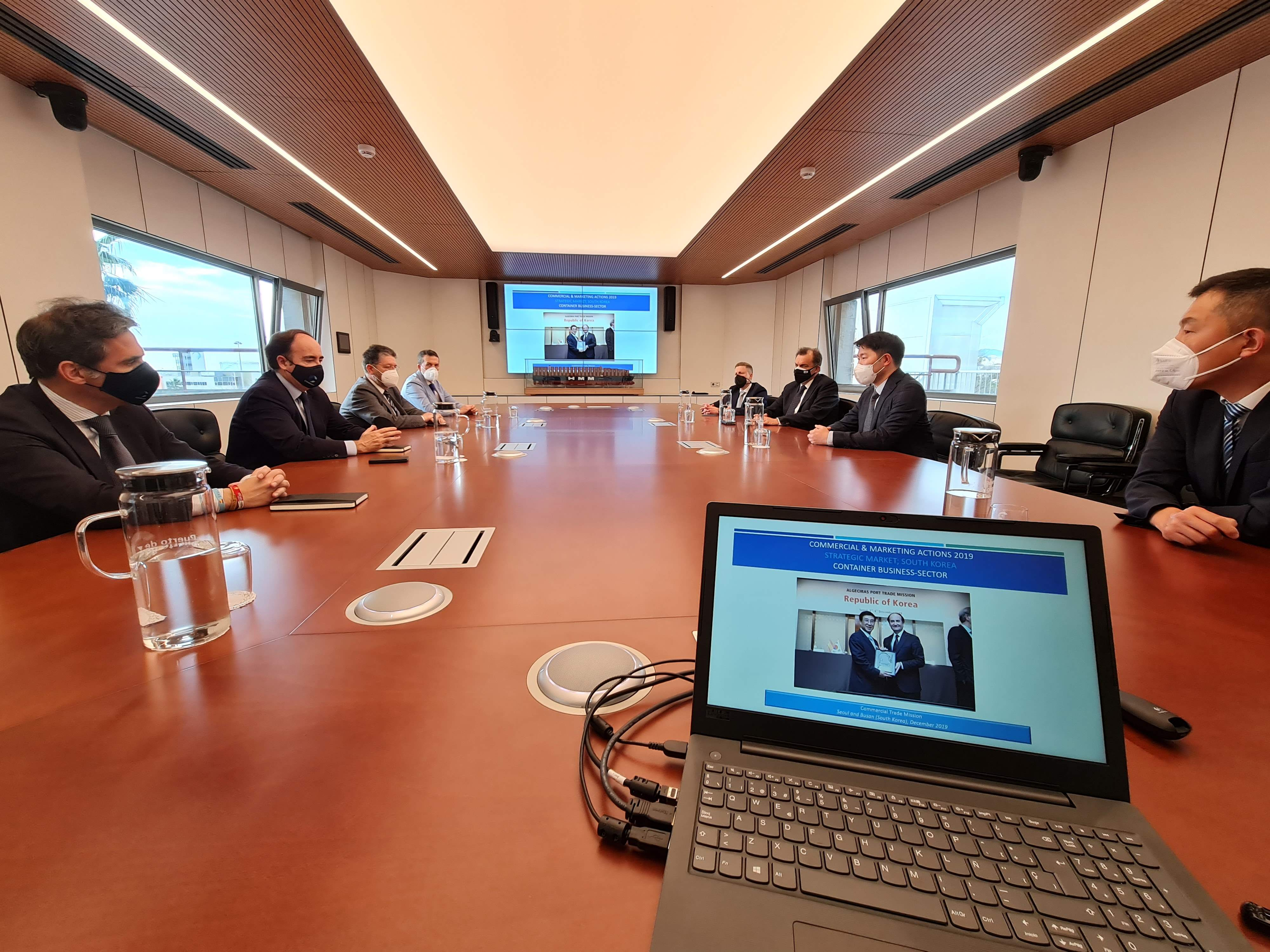 TTI ALGECIRAS estrena nuevo servicio con Asia de la mano de THE Alliance