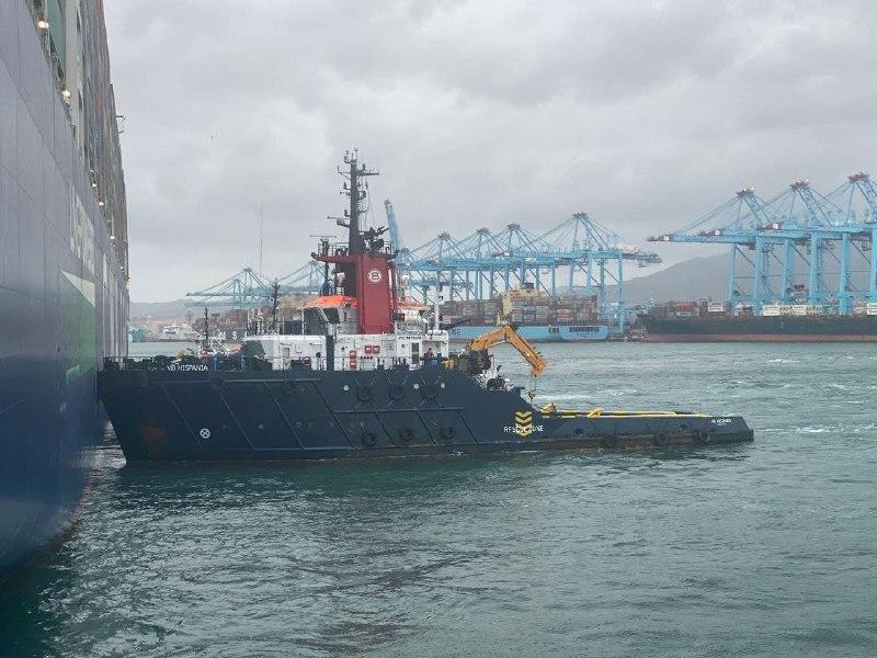 CGT denuncia que un remolcador infringe la normativa vigente en la Bahía de Algeciras