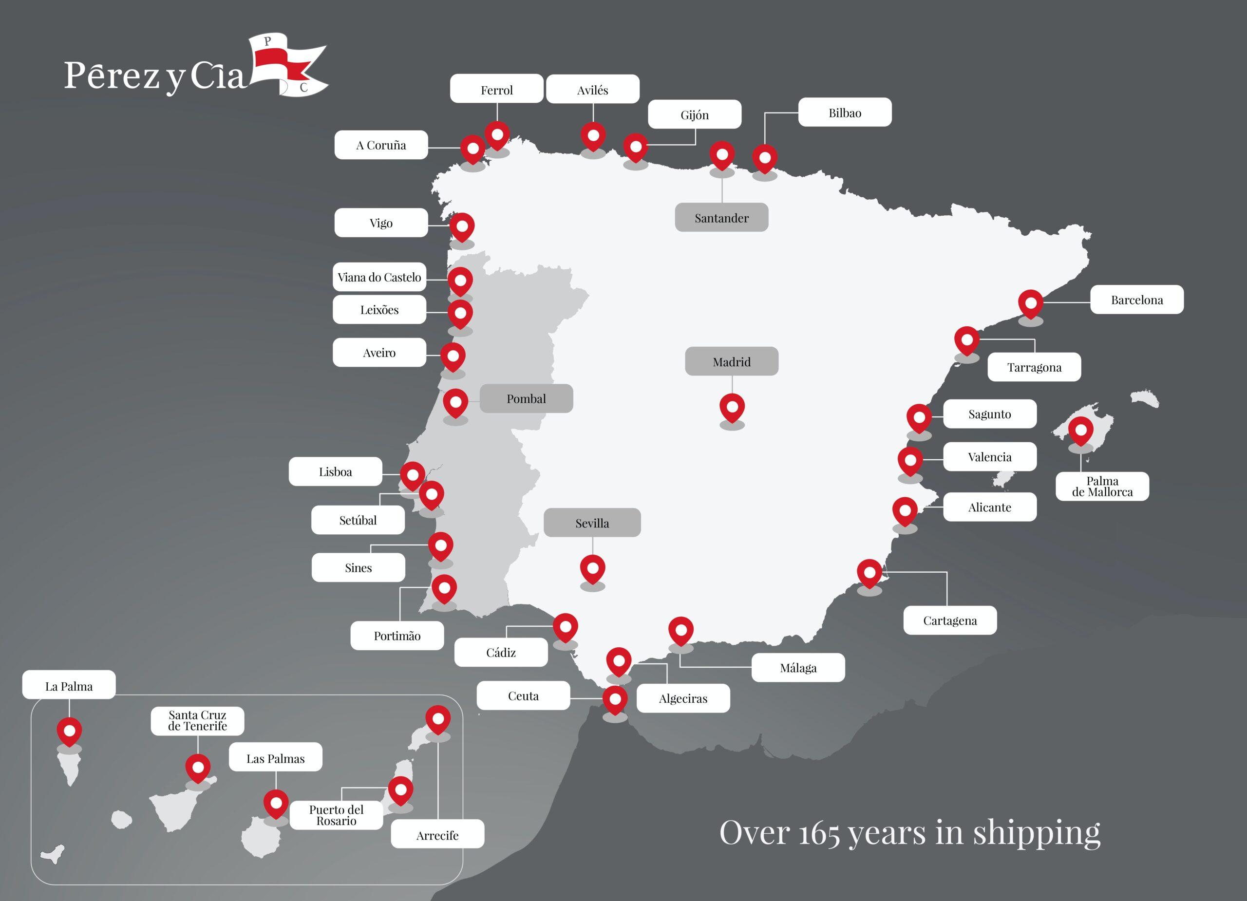 Pérez y Cía. refuerza su presencia en el mercado ibérico con la compra de Burmester & Stüve Navegaçâo S.A