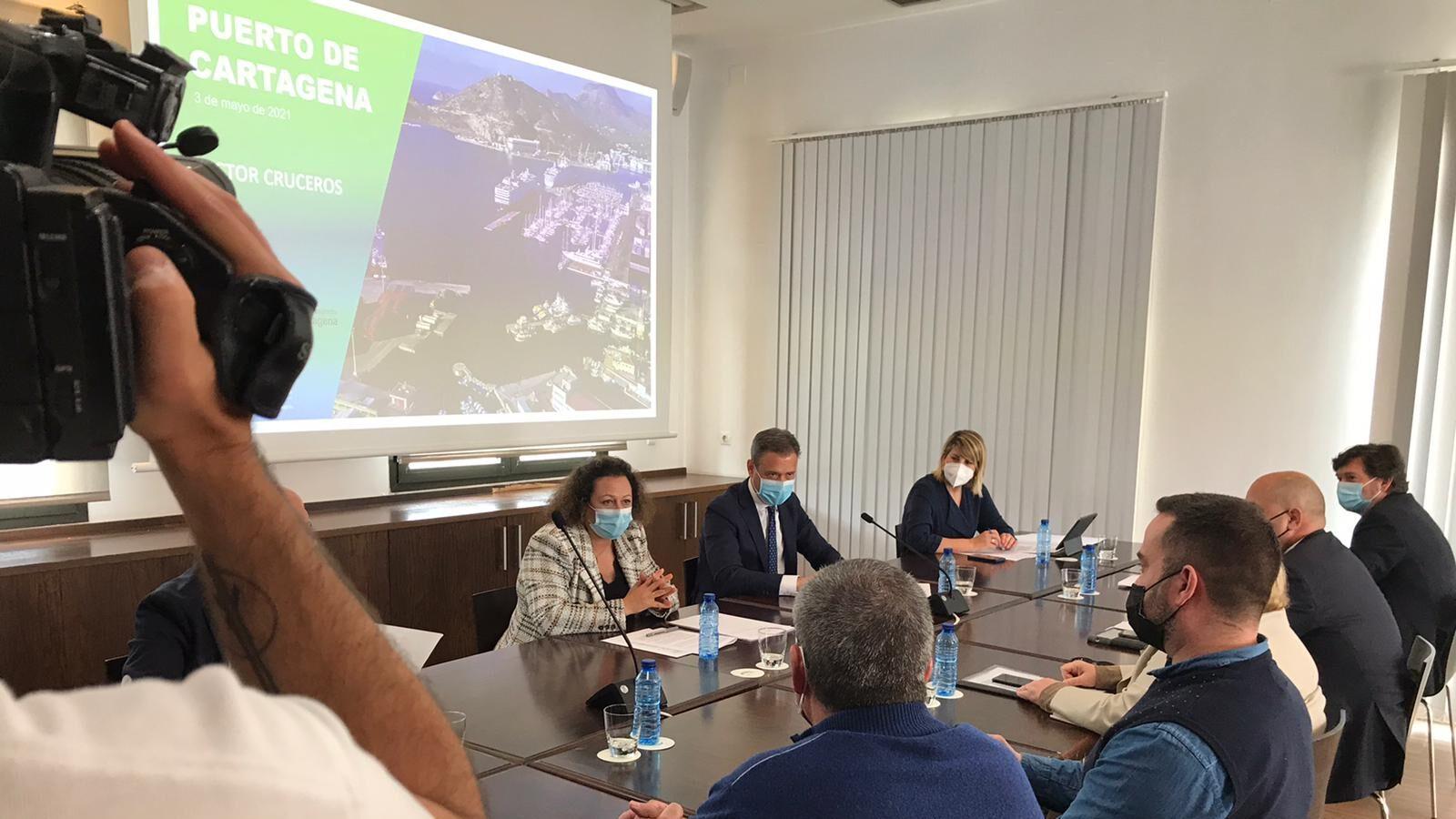 Luz verde de la Comunidad de Murcia para la reactivación de los cruceros nacionales en Cartagena