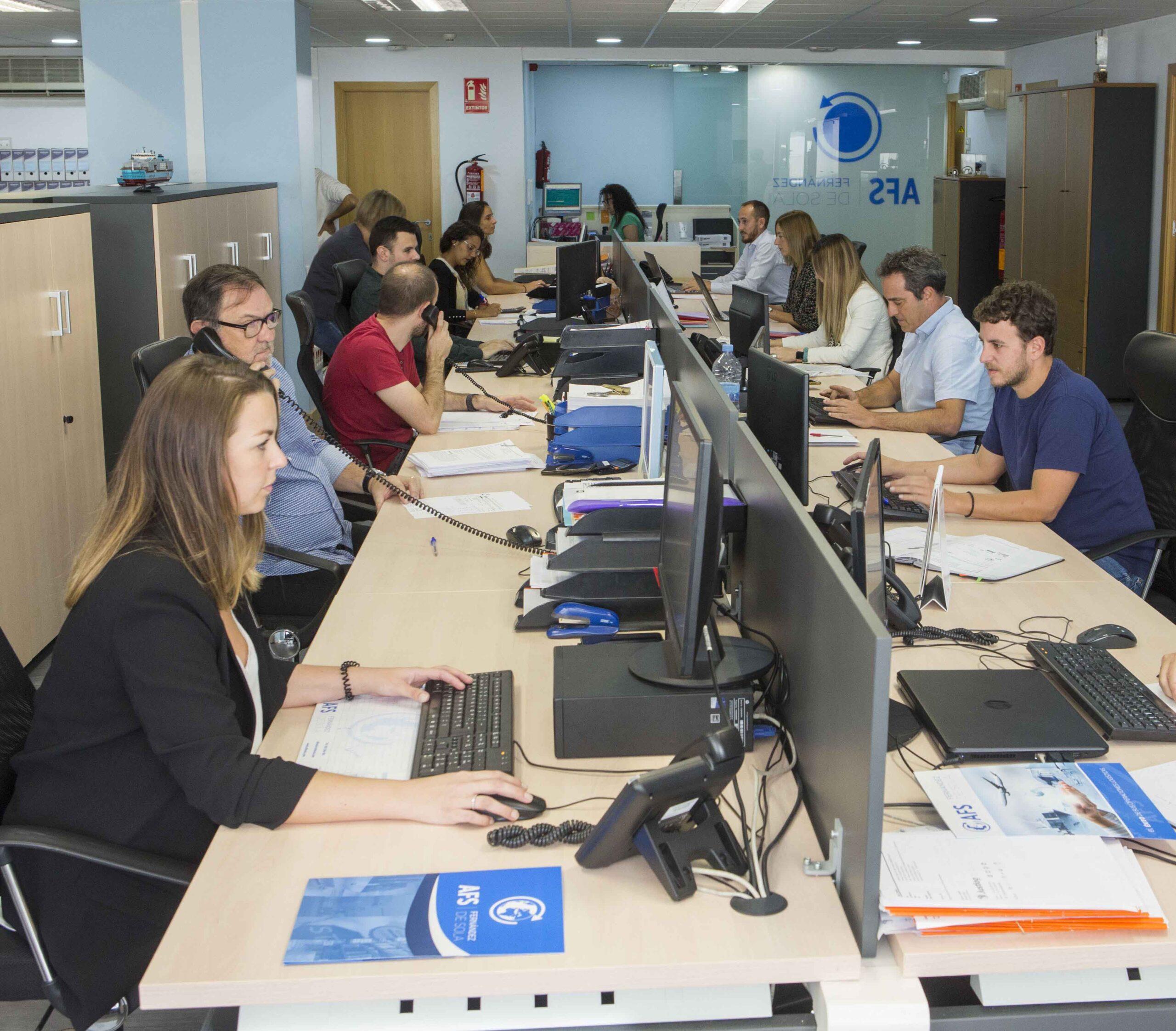 La Agencia Transitaria AFS Fernández de Sola cumple un año con Visual Trans