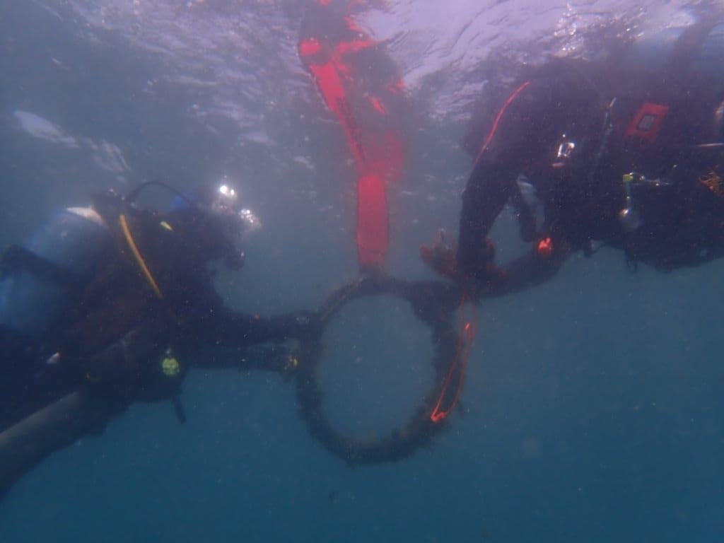 Verdemar Ecologistas en Acción lleva a cabo una limpieza del fondo marino con motivo del día de los océanos