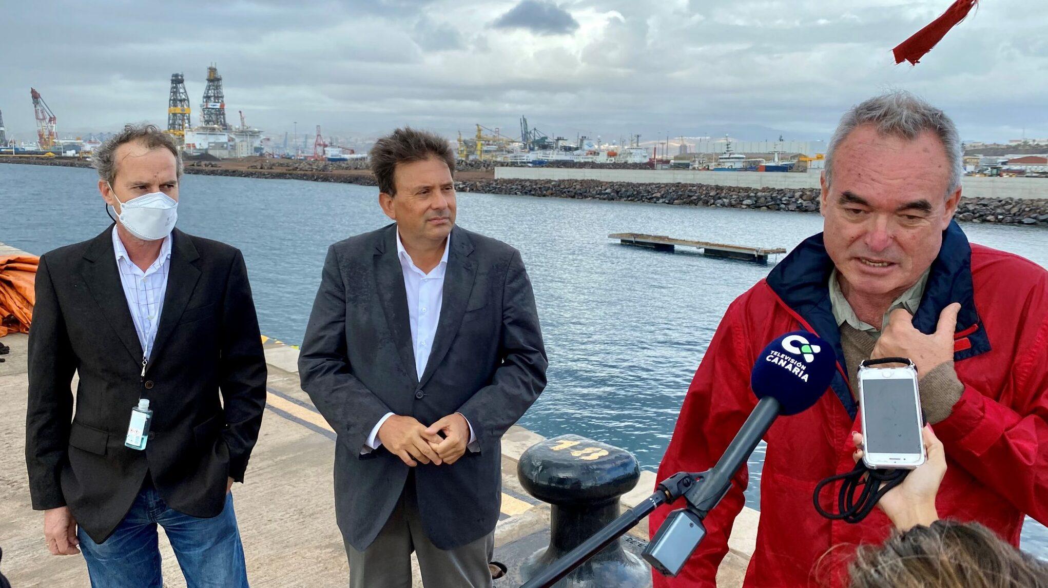 La bahía de Las Palmas, testigo de la recuperación de los charranes comunes gracias a plataformas flotantes para su cría y a las aguas limpias