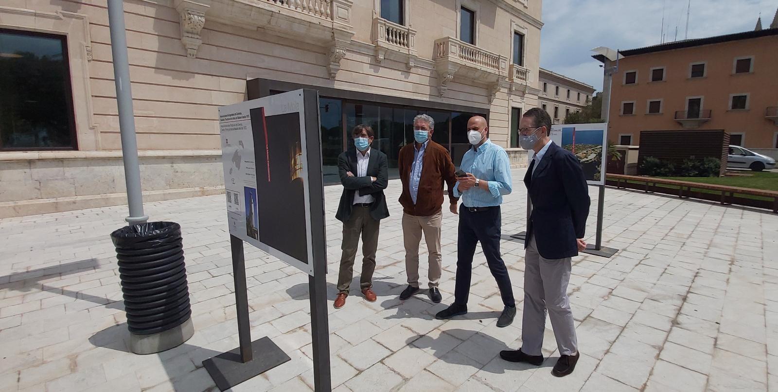 Medio siglo de intervenciones en los faros de Baleares, recogido en una exposición