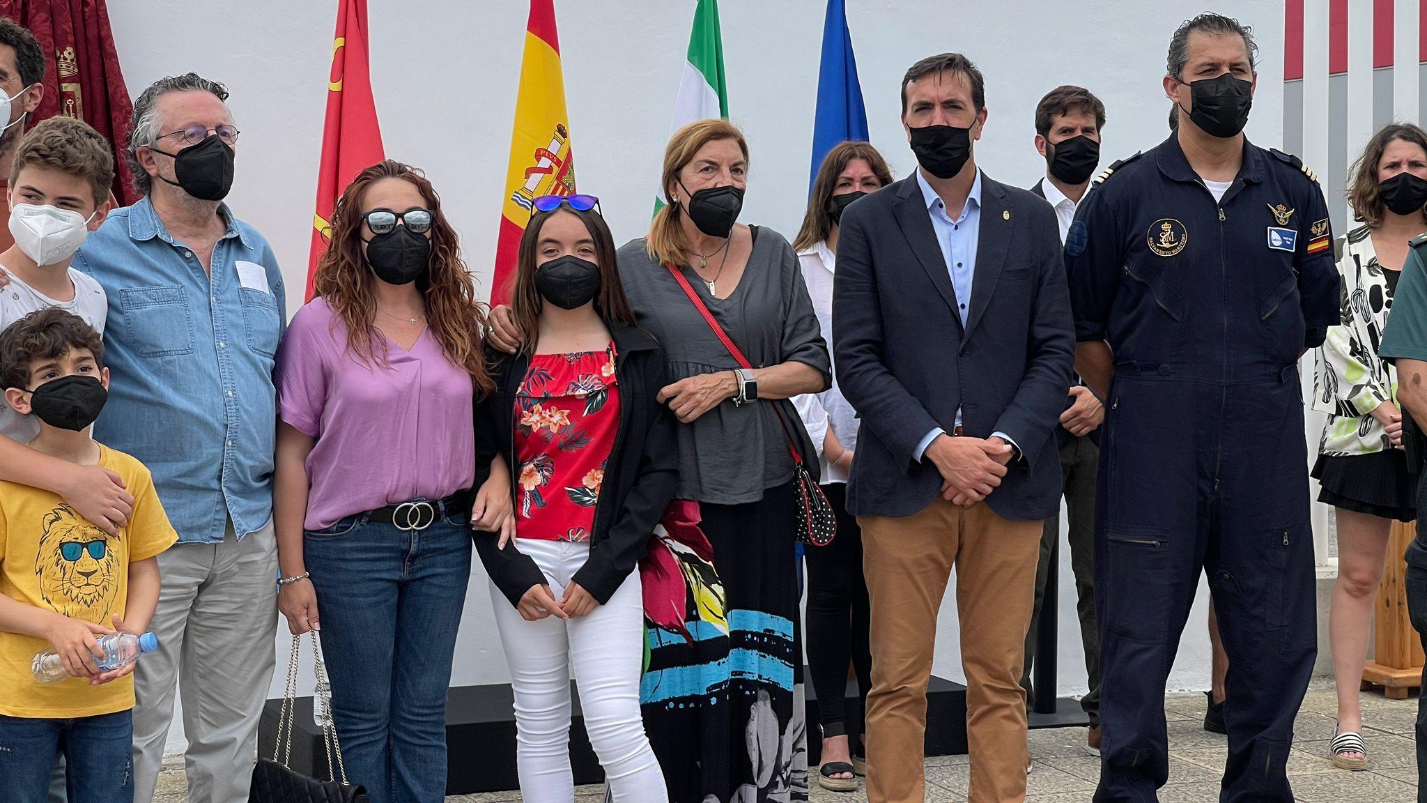 Profesionales de emergencias reconocen en Tarifa la labor del rescatador marítimo Íñigo Vallejo García