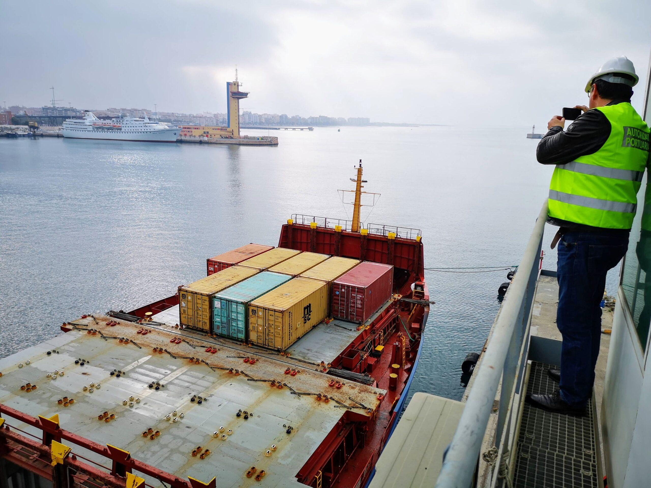 La Autoridad Portuaria de Almería es la que más crece de España en tráfico de mercancías