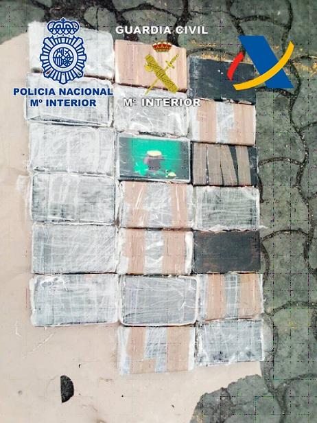 Aprehendidos 190 kilogramos de cocaína en África en dos contenedores procedentes del Puerto de Gran Canaria