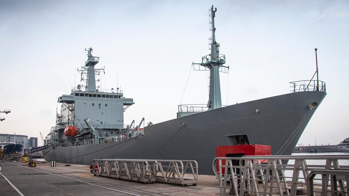 Llega a Gibraltar el mayor buque oceanográfico de Europa occidental