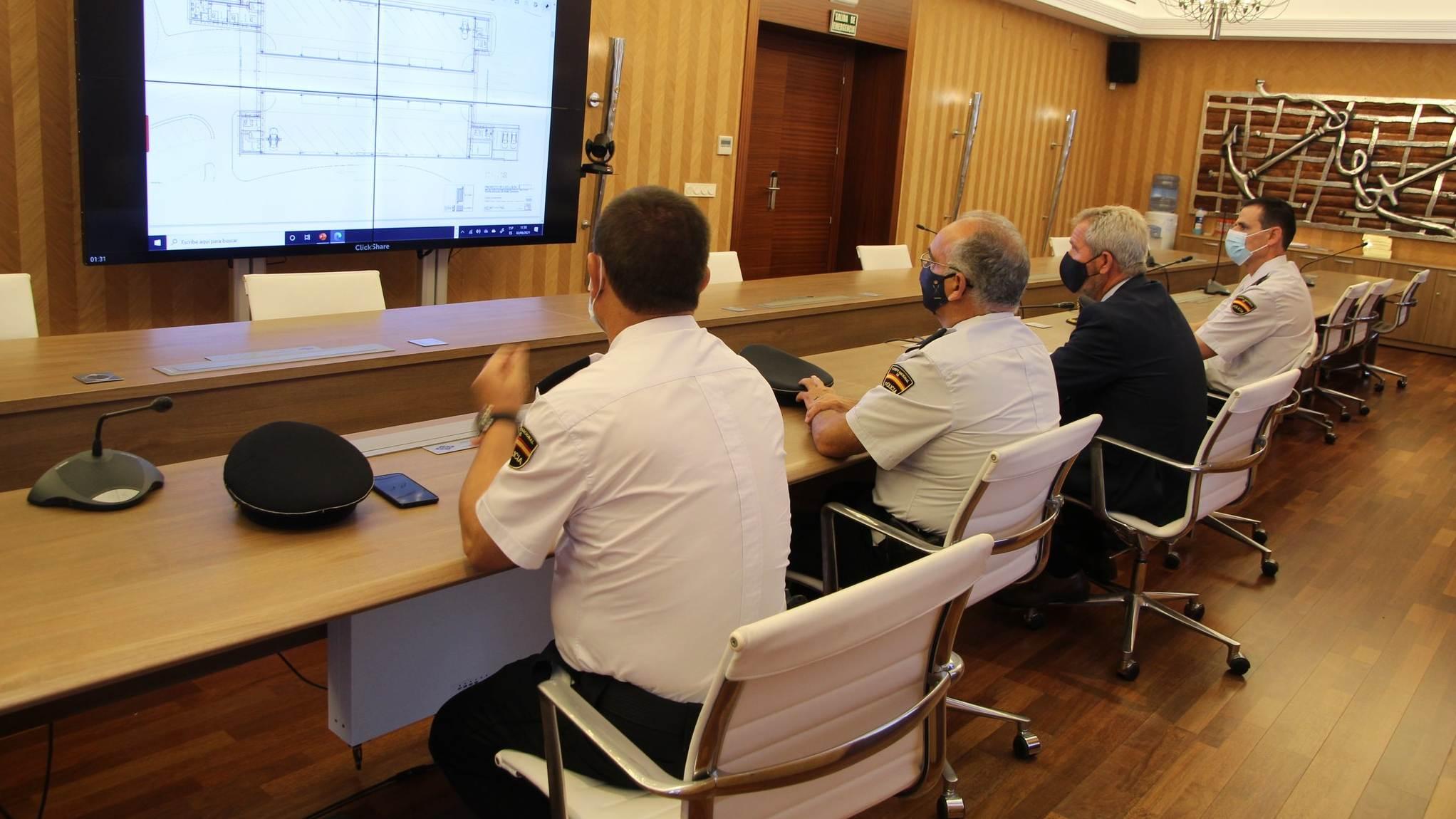La futura zona de control de extranjería y fronteras en el puerto de Motril contará con una inversión de 1,8 M€
