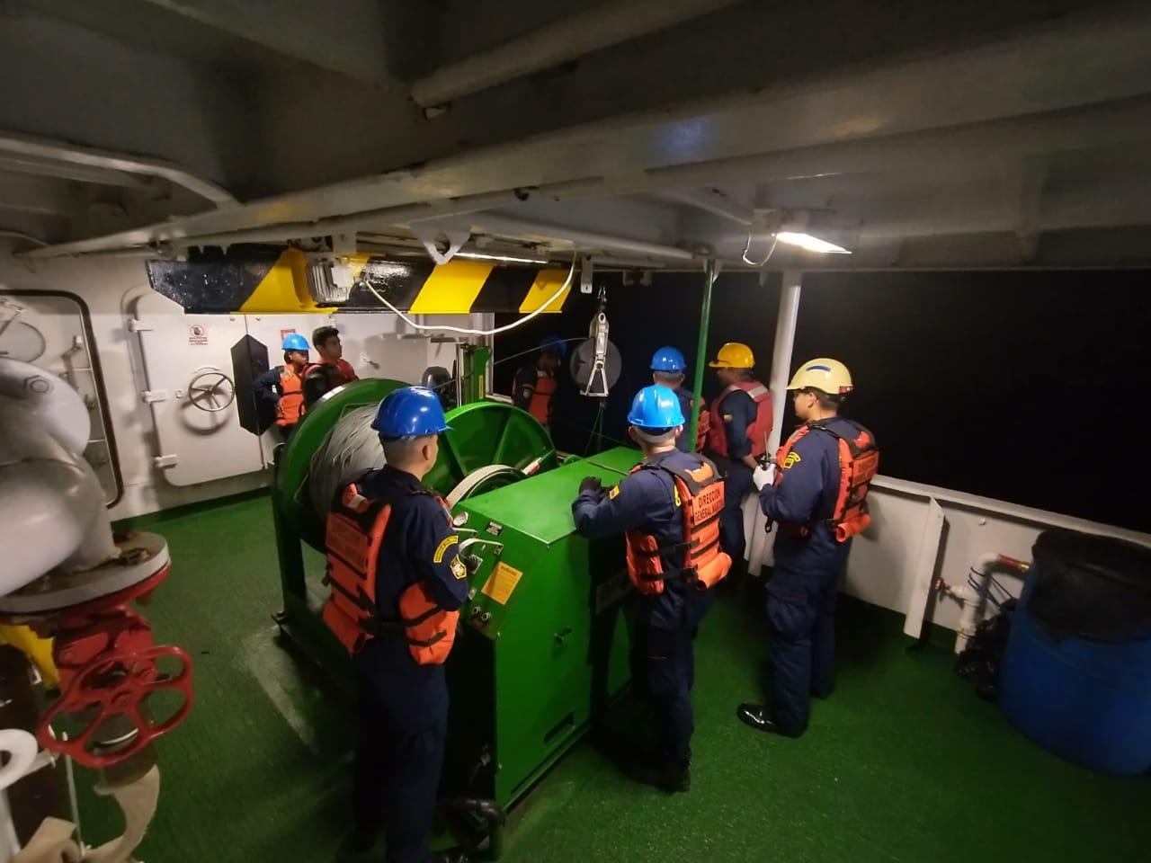 El Buque Oceanográfico ARC 'Providencia' zarpa del Pacífico colombiano