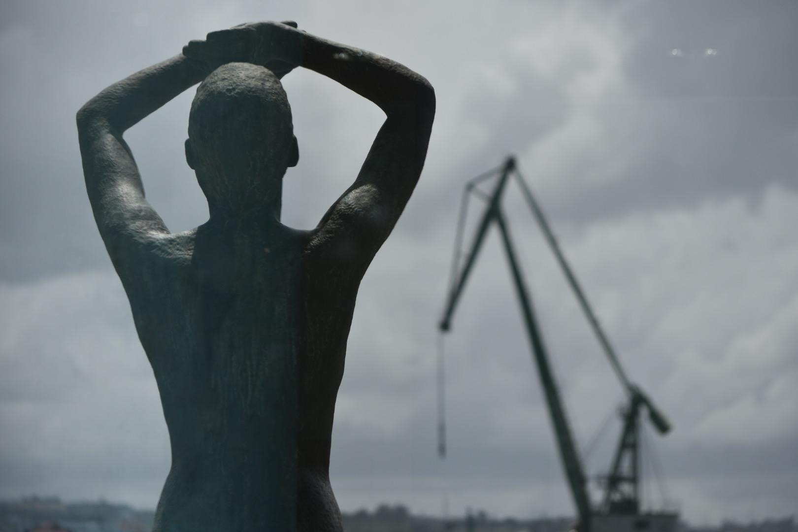 """Una fotografía del """"Anthem of the Sea"""", primer premio del concurso de fotografía de la Autoridad Portuaria de La Coruña"""