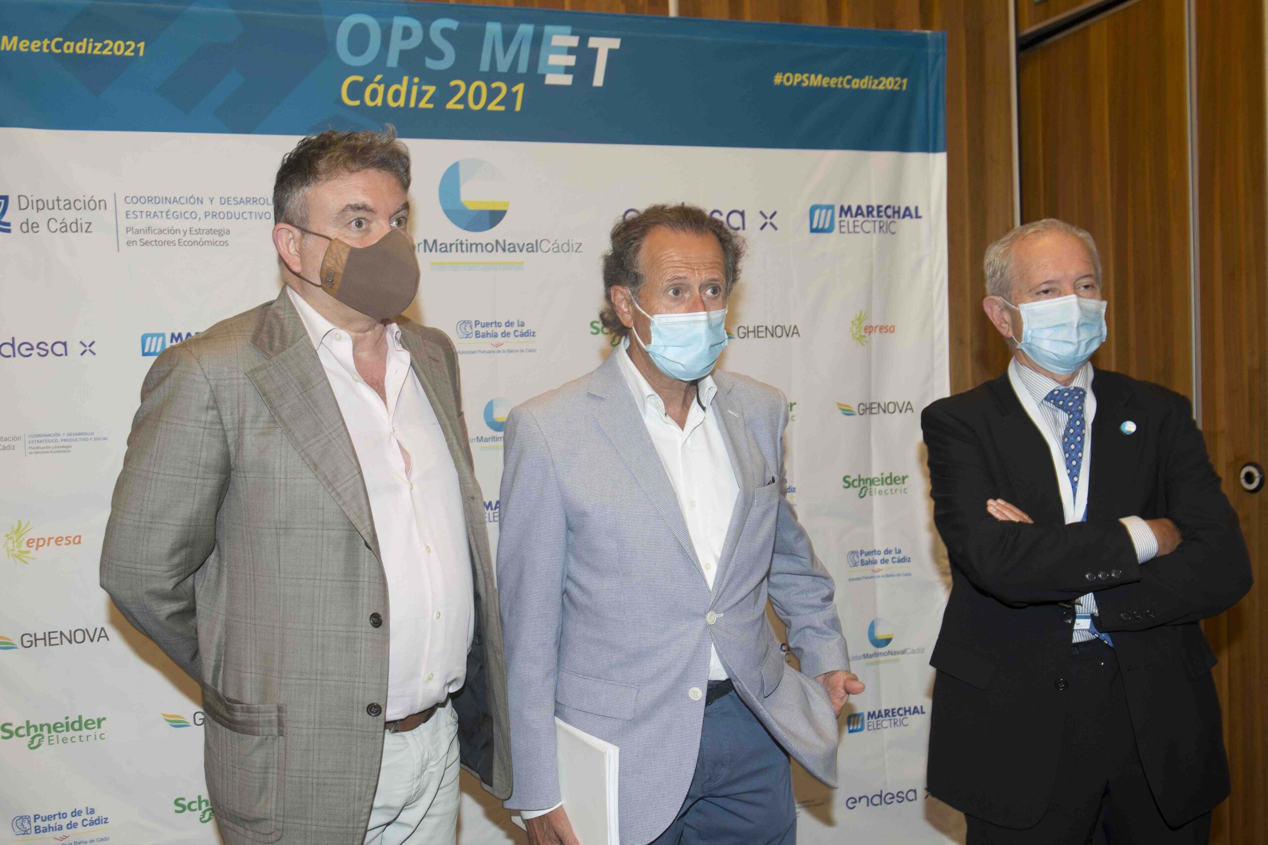 Diputación respalda el encuentro del Clúster Marítimo Naval de Cádiz para dar a conocer el sistema OPS para reducir la contaminación