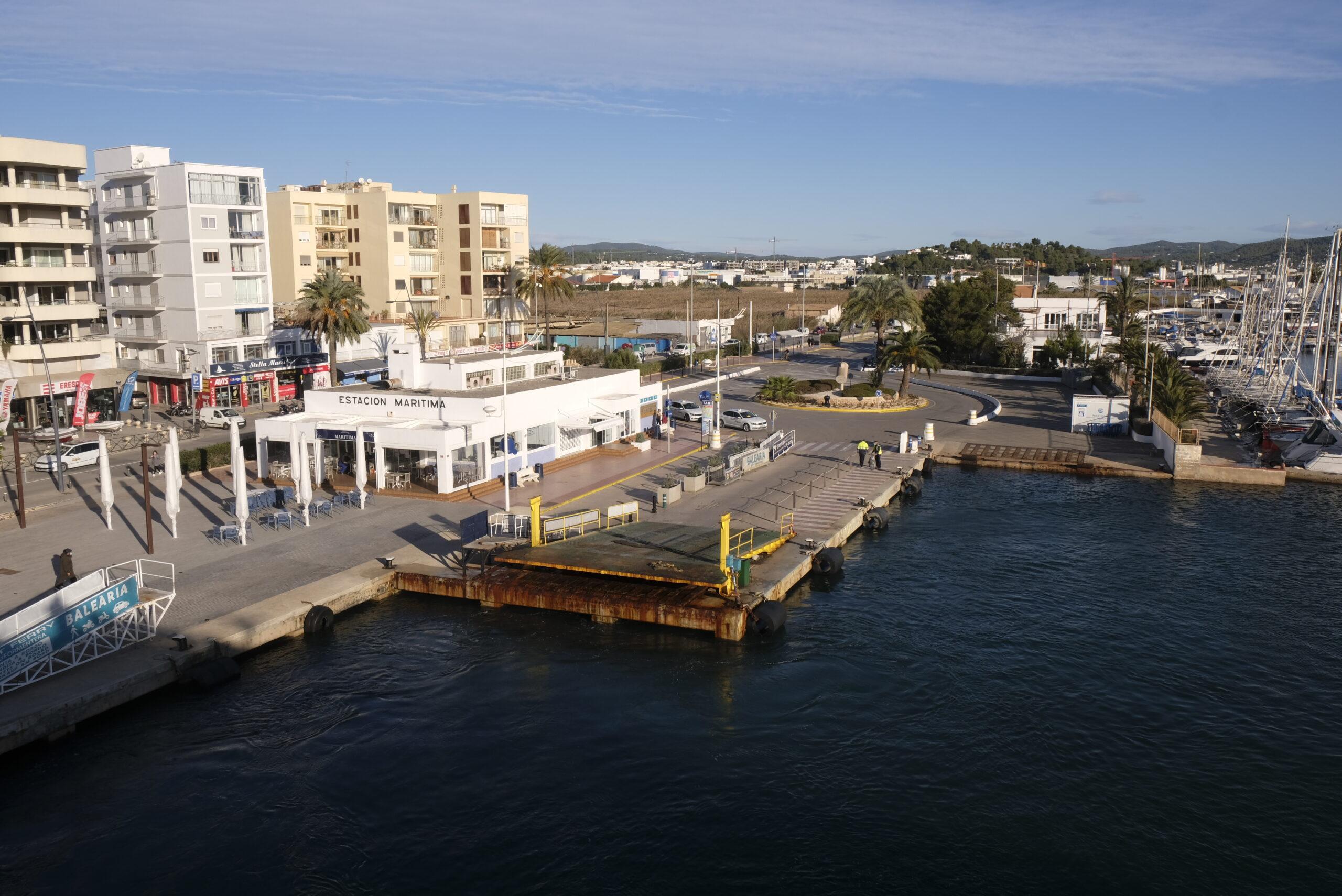 Nuevas medidas en las asignaciones de atraques en los puertos de la Savina y Eivissa