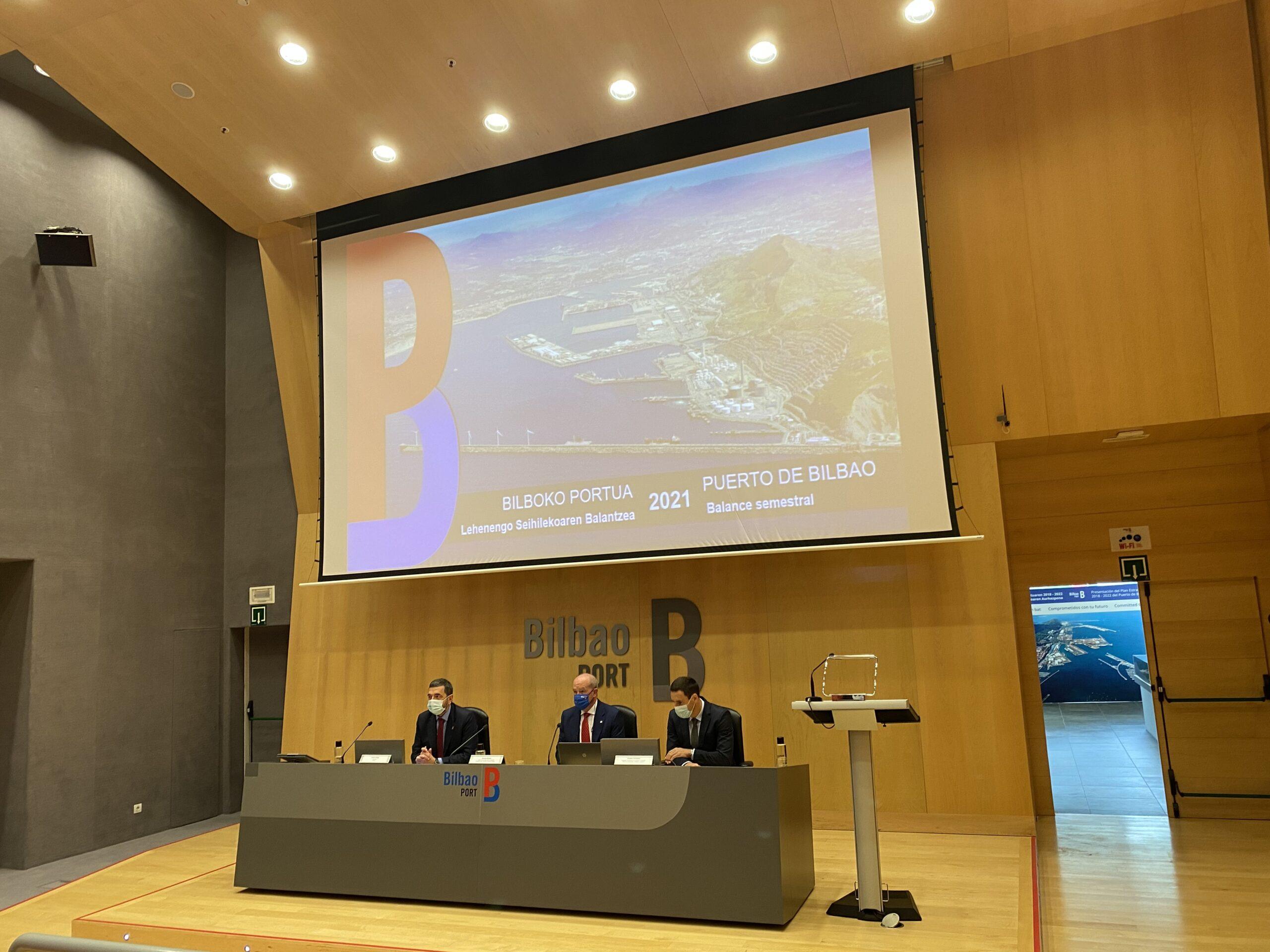 El Puerto de Bilbao espera un incremento de los tráficos en el segundo semestre