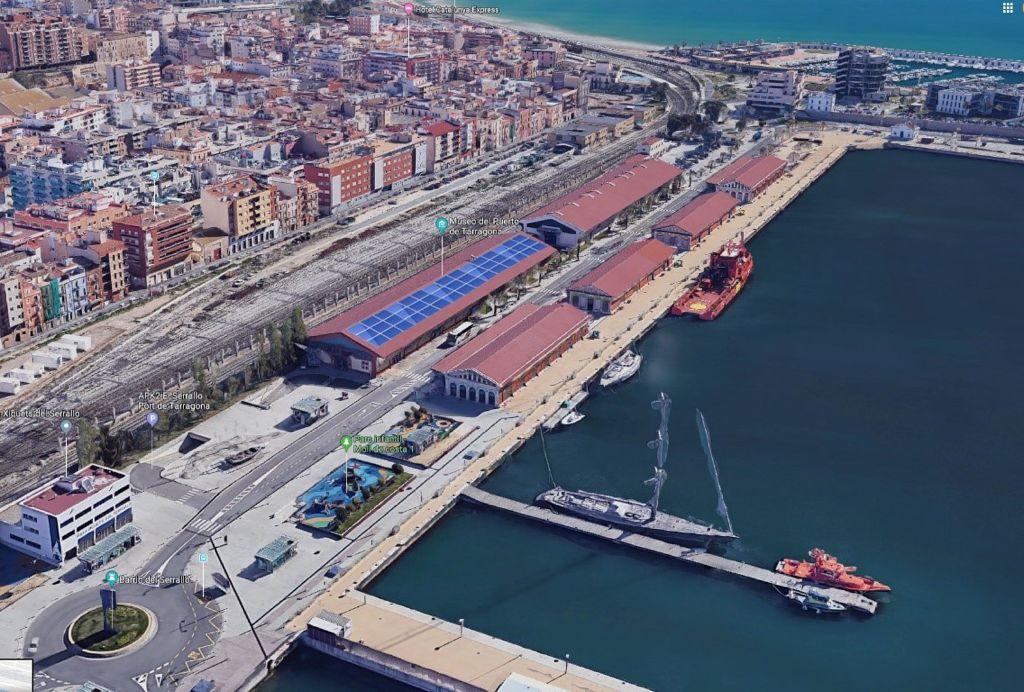 El Puerto Tarragona adjudica la instalación de 578 paneles fotovoltaicos
