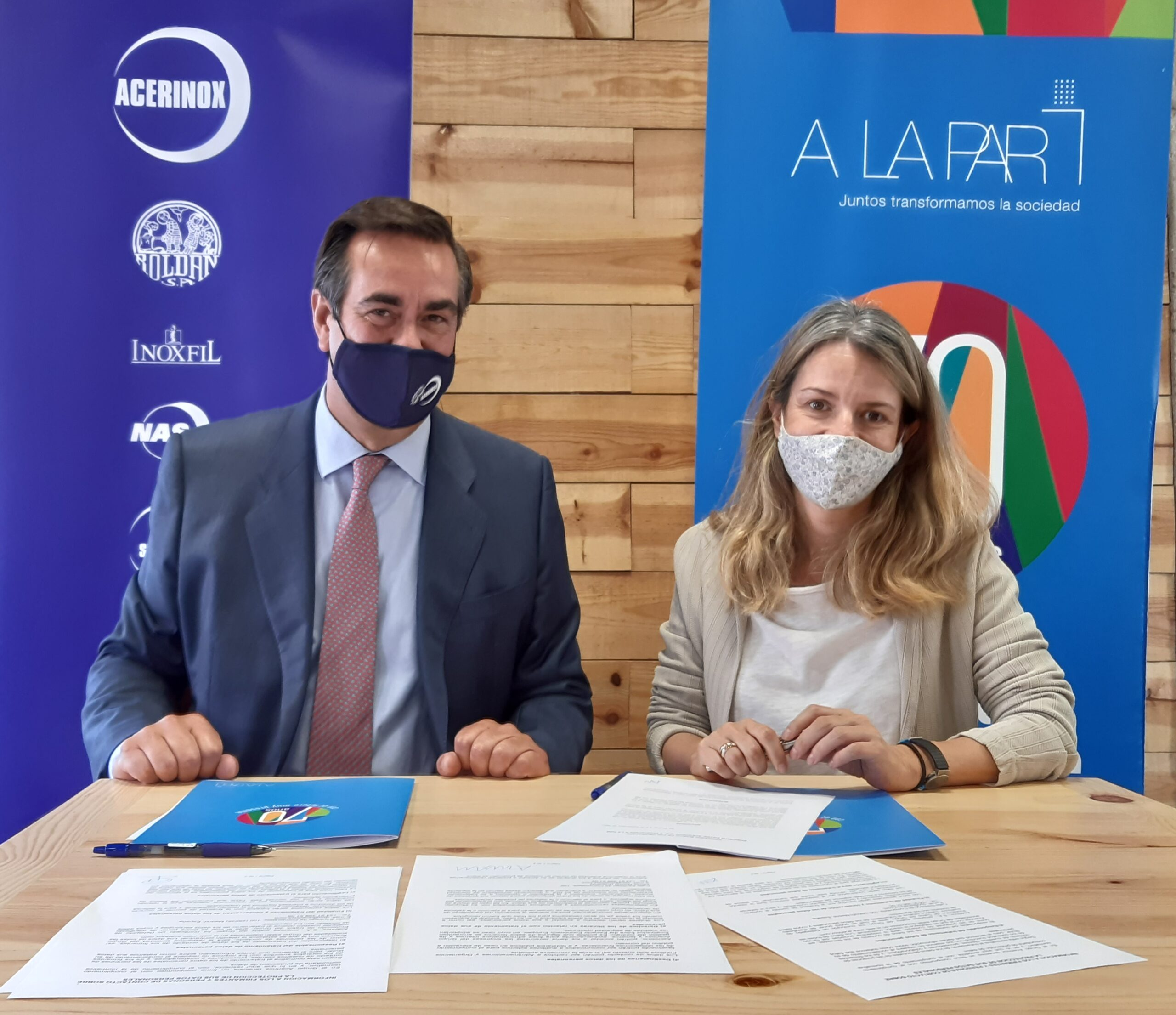 Acerinox y la Fundación A LA PAR se alían para colaborar en la integración de personas con discapacidad intelectual