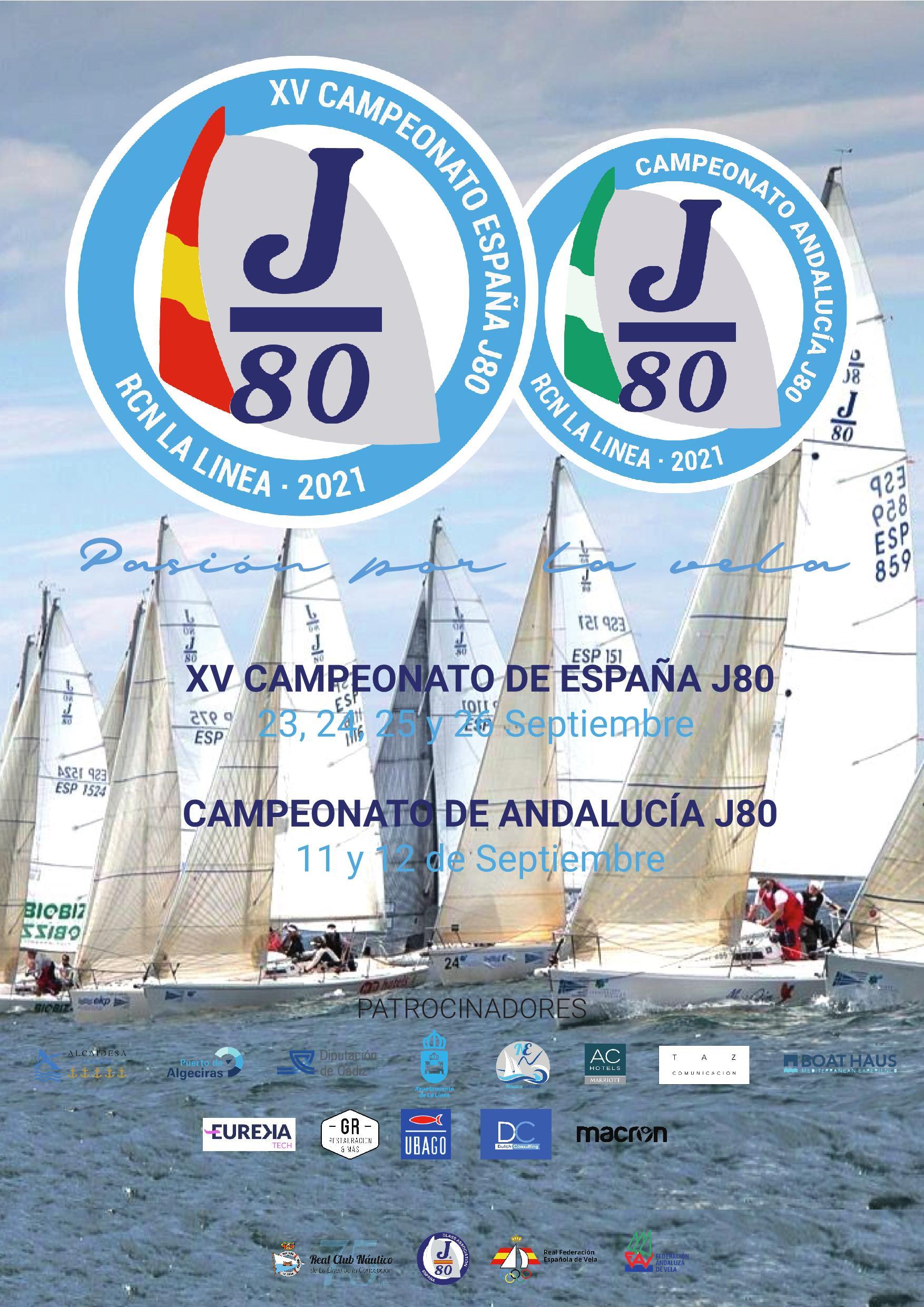 Presentados los campeonatos de España y Andalucía de vela J80 que se celebran este mes en La Línea