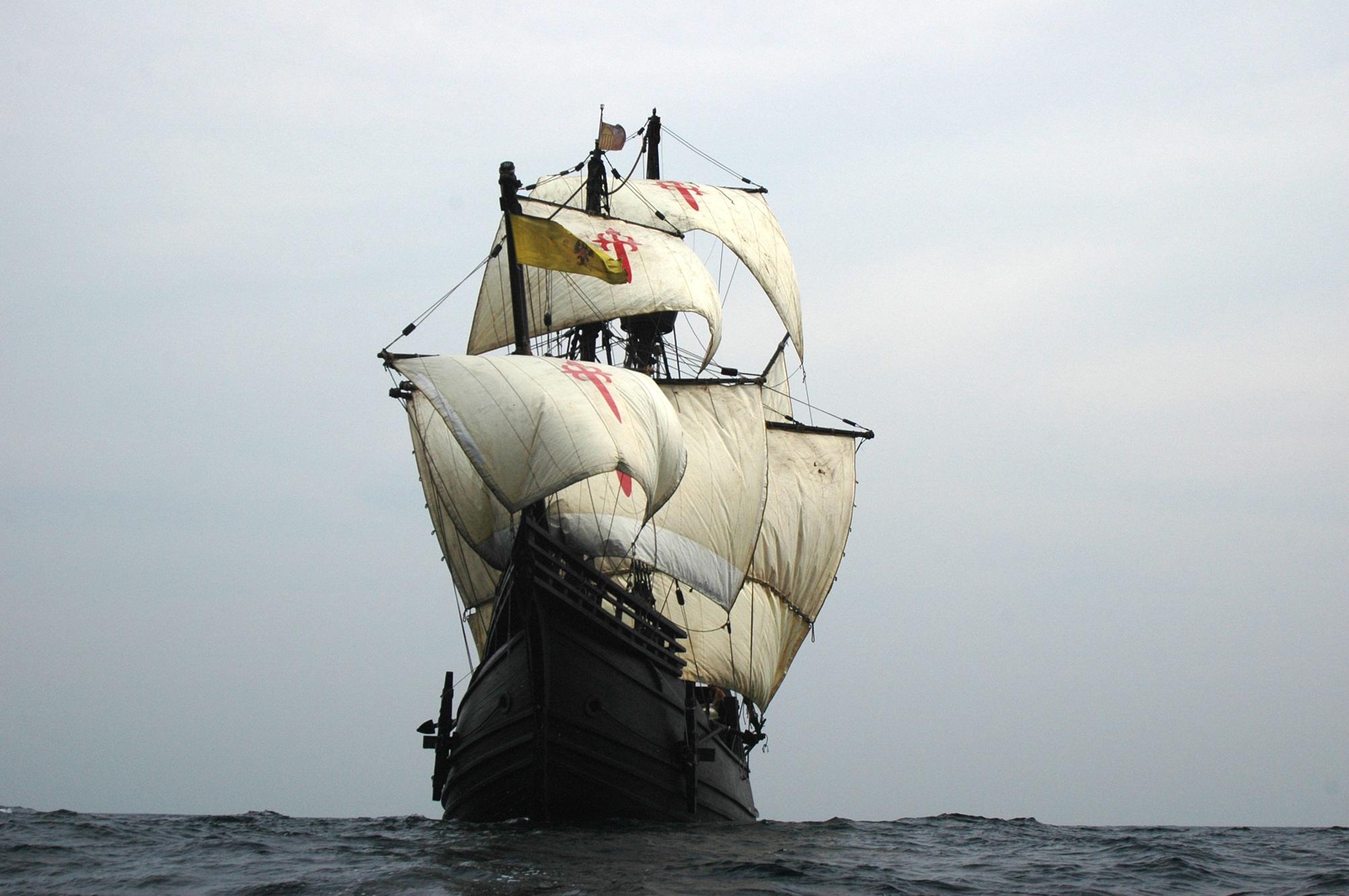 La Nao Victoria regresa a Algeciras