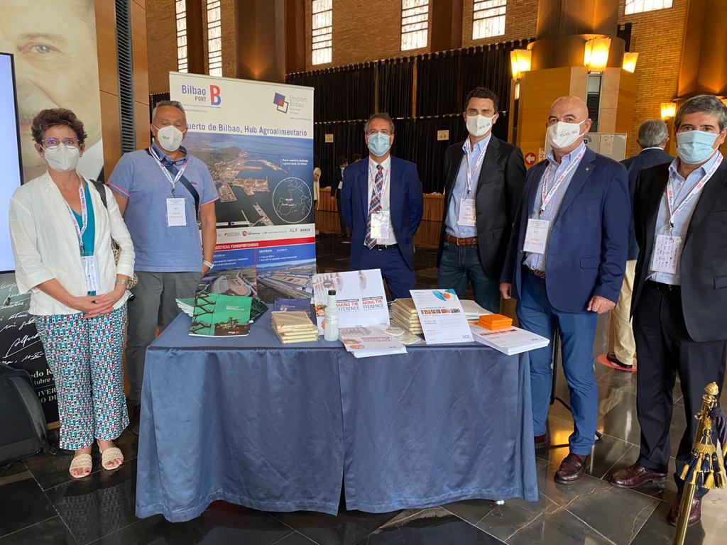 El Puerto de Bilbao participa en el XIX Encuentro Nacional de Operadores de Cereales