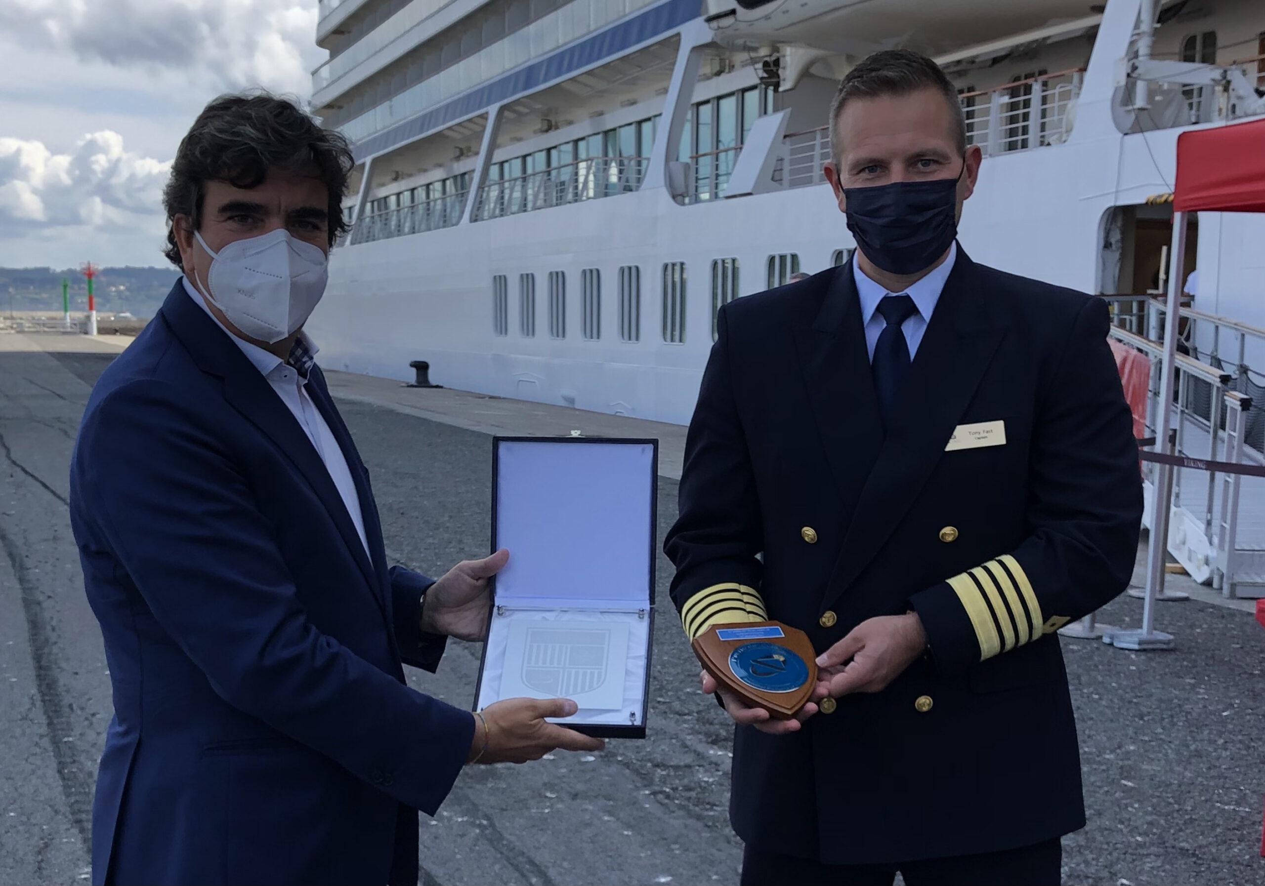 Satisfacción tras la primera escala de cruceros en La Coruña tras la pandemia