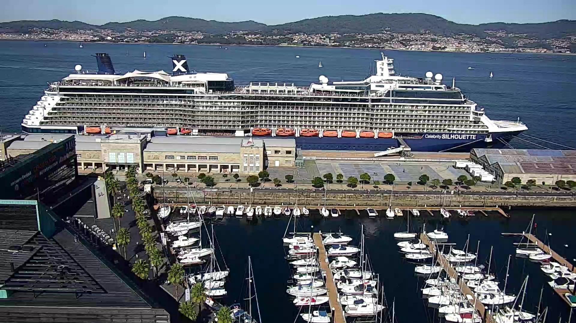 Vigo recibe a más de 12.000 visitantes desde que se reanudó el tráfico de cruceros