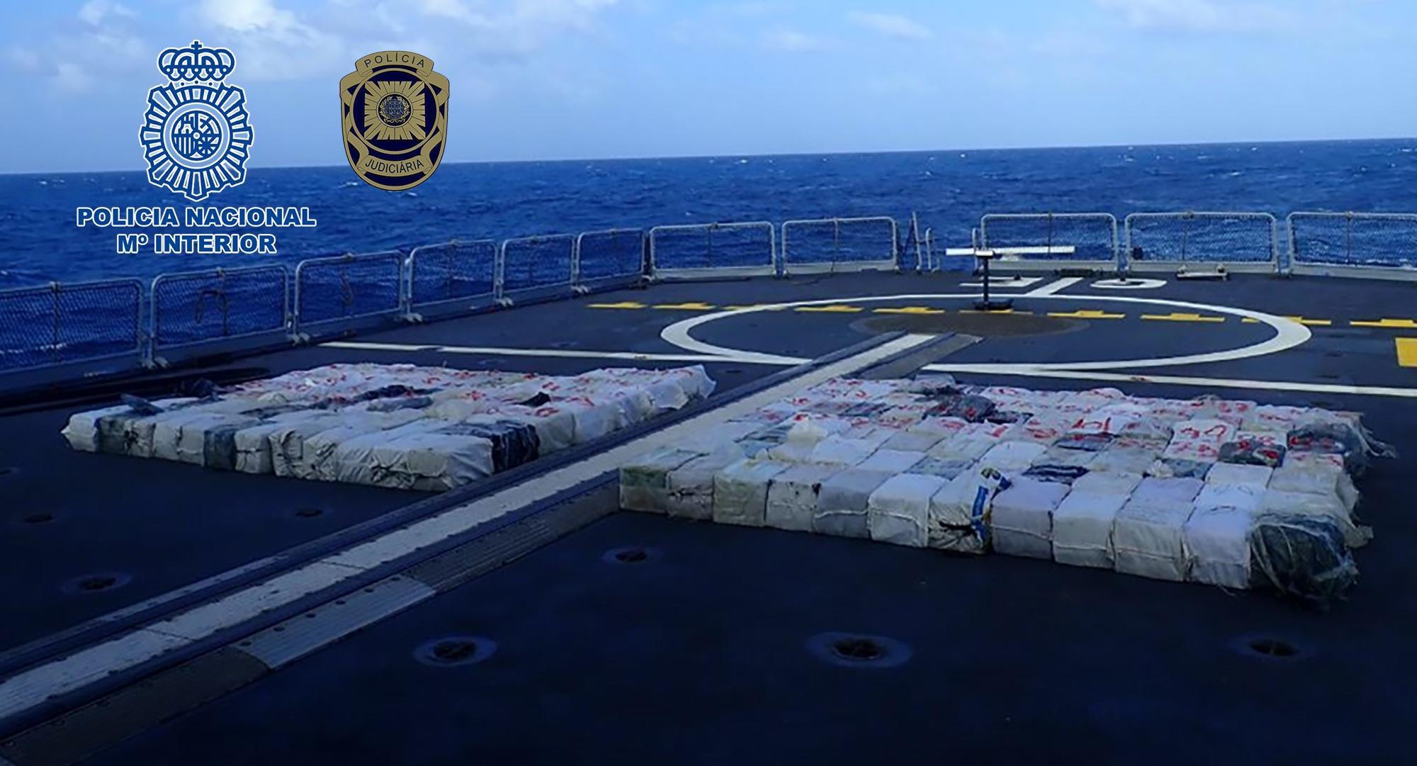 Intervenidos 4.248 kilogramos de cocaína en un pesquero venezolano