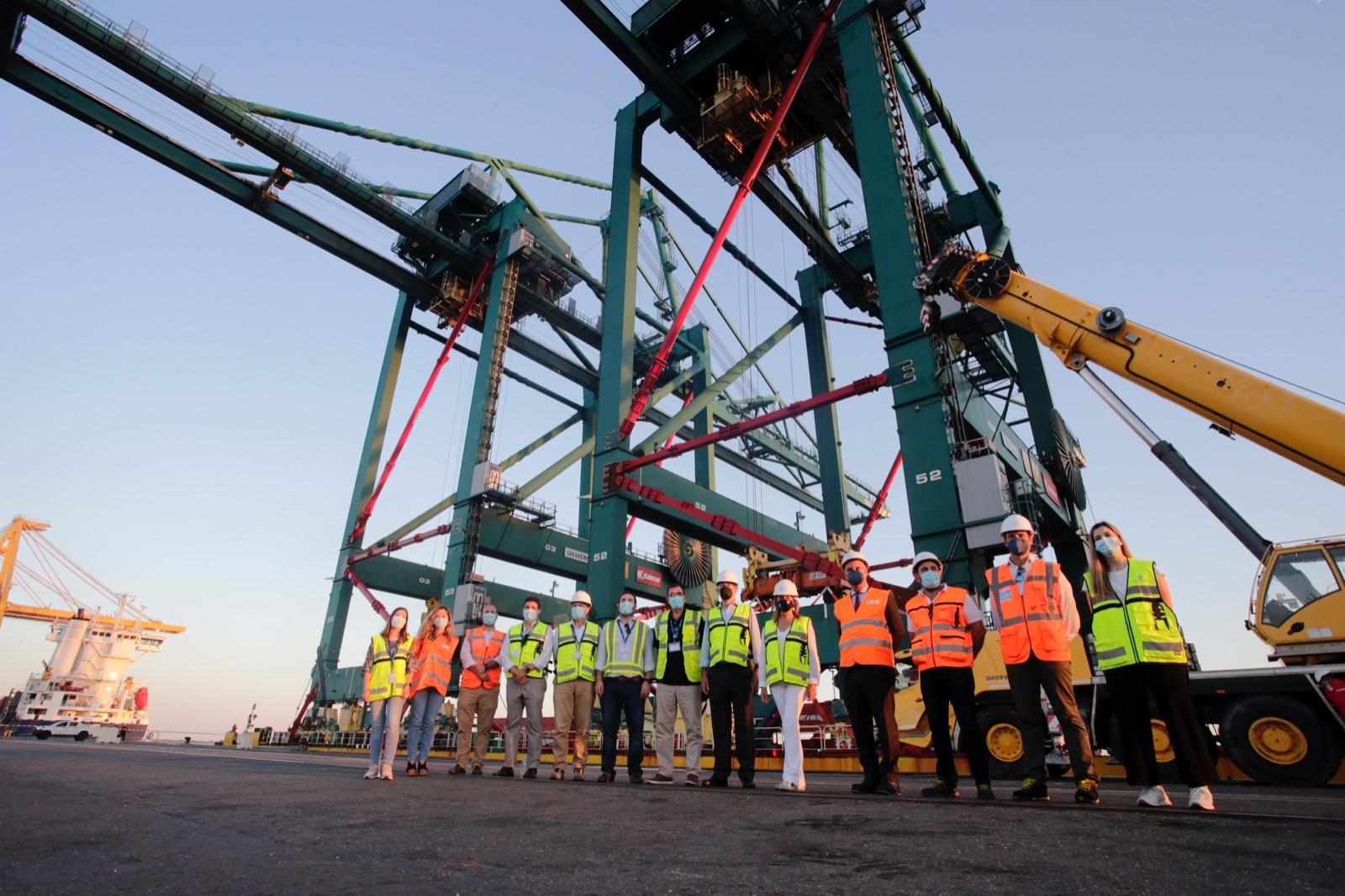 El Puerto de Huelva licita la construcción y explotación de una terminal de contenedores en el Muelle Sur